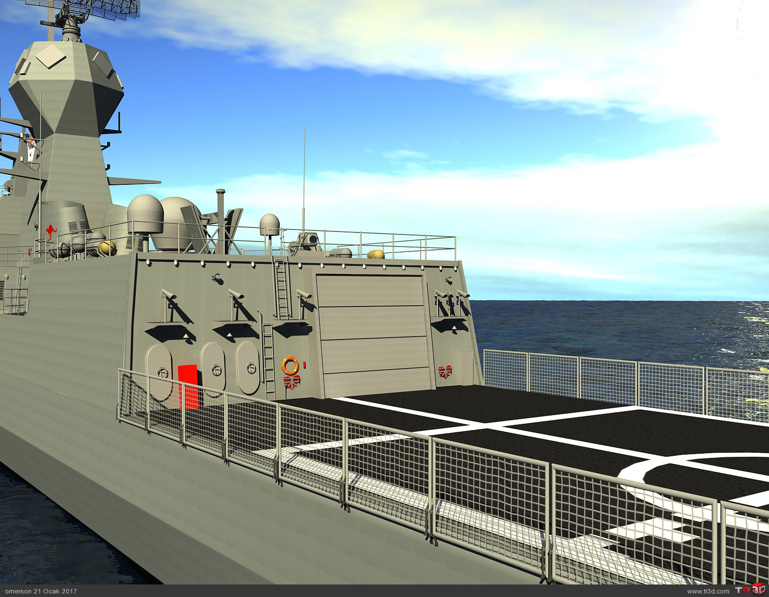 ANZAC CLASS FRIGATE HMAS BALLARAT 3