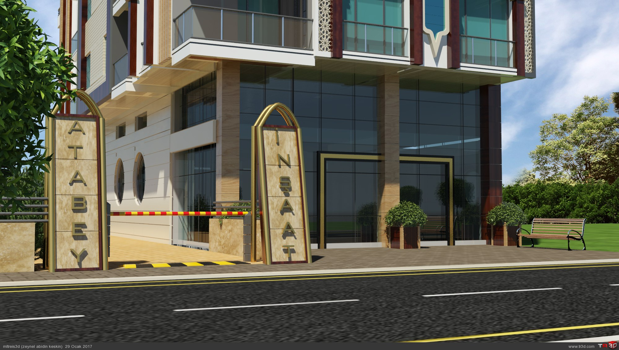 Atabey inşaat 3D Görsel
