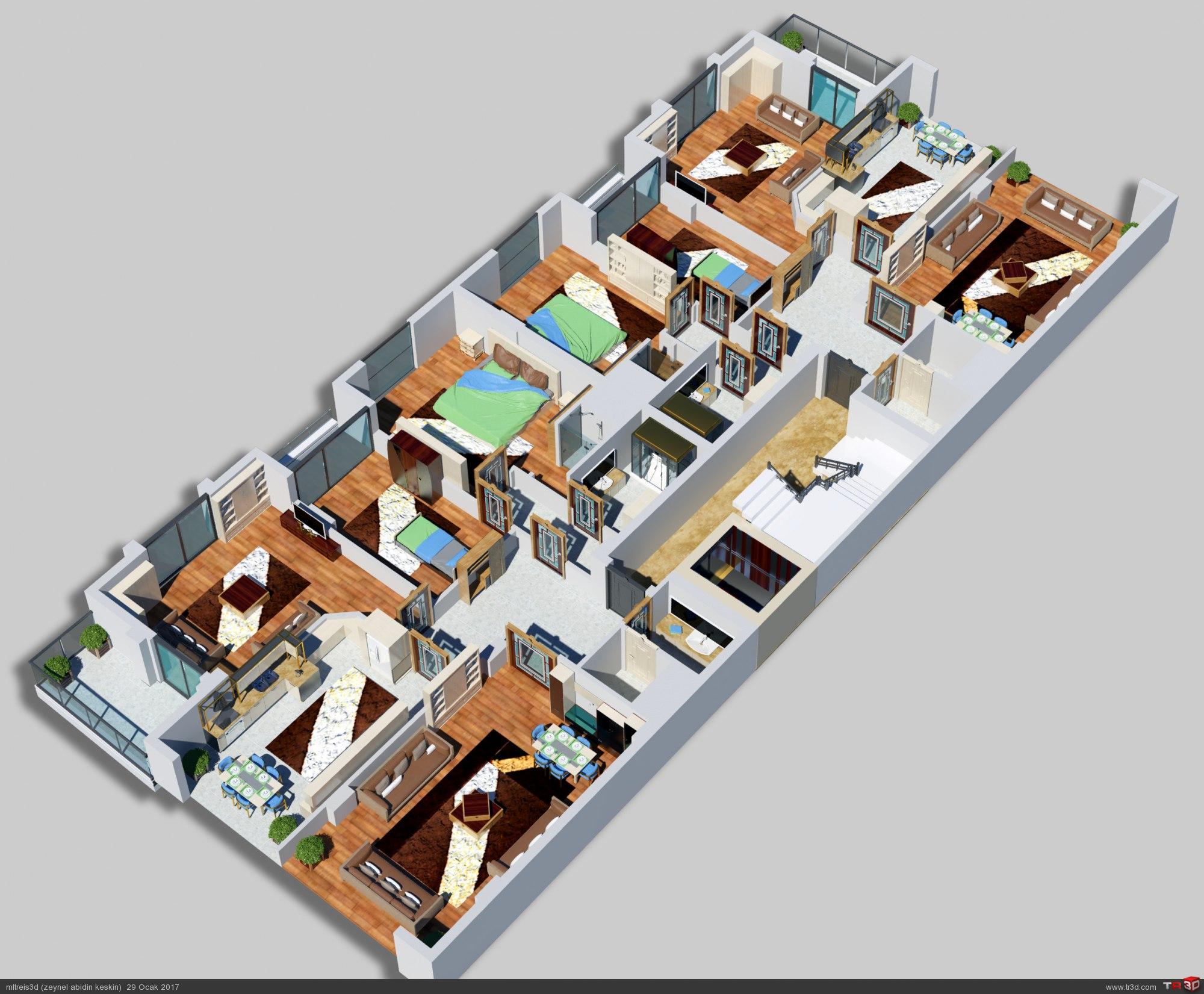 Atabey inşaat 3D Görsel 4
