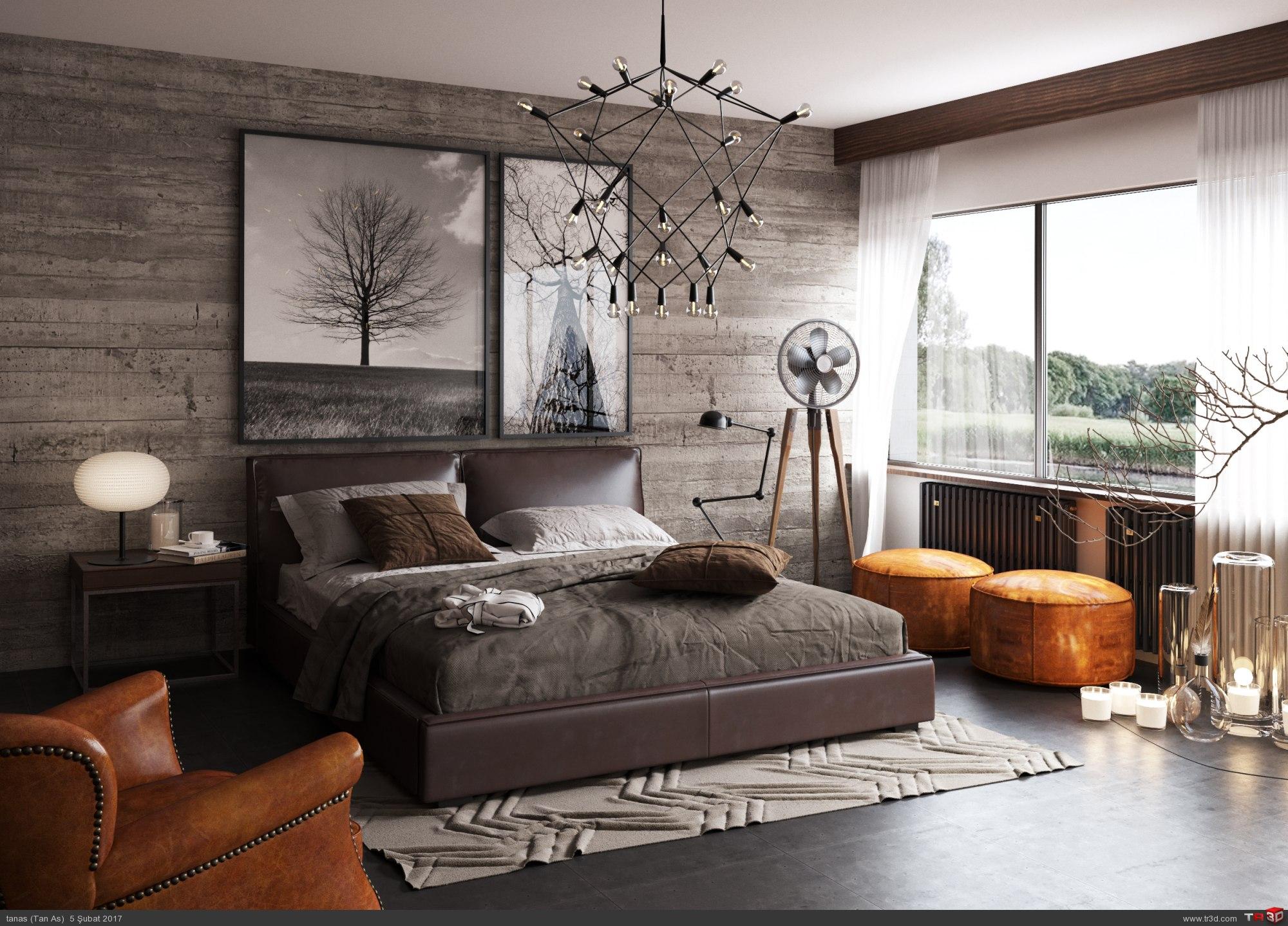 Konsept Yatak Odası  1
