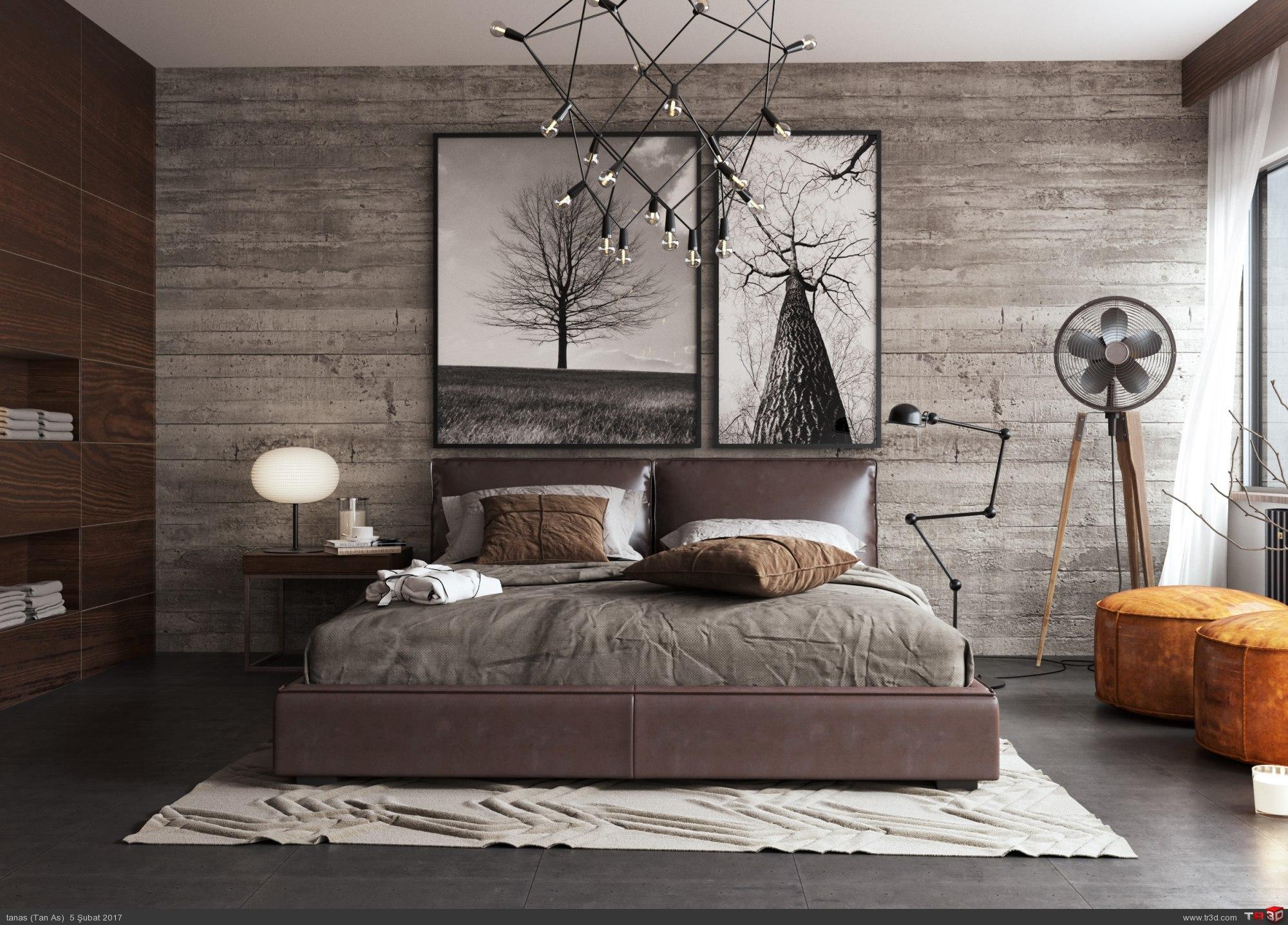 Konsept Yatak Odası  2
