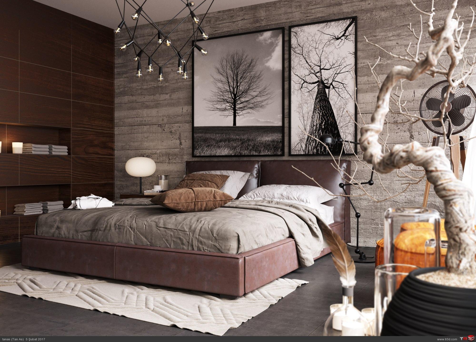 Konsept Yatak Odası  3