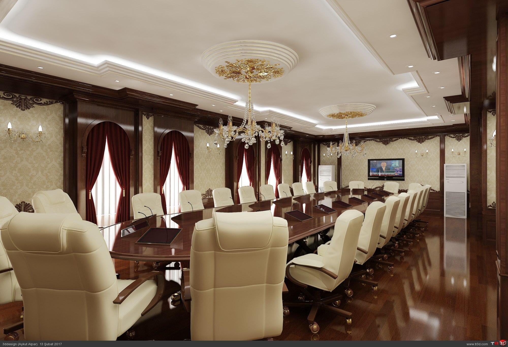 Klasik Toplantı Odası