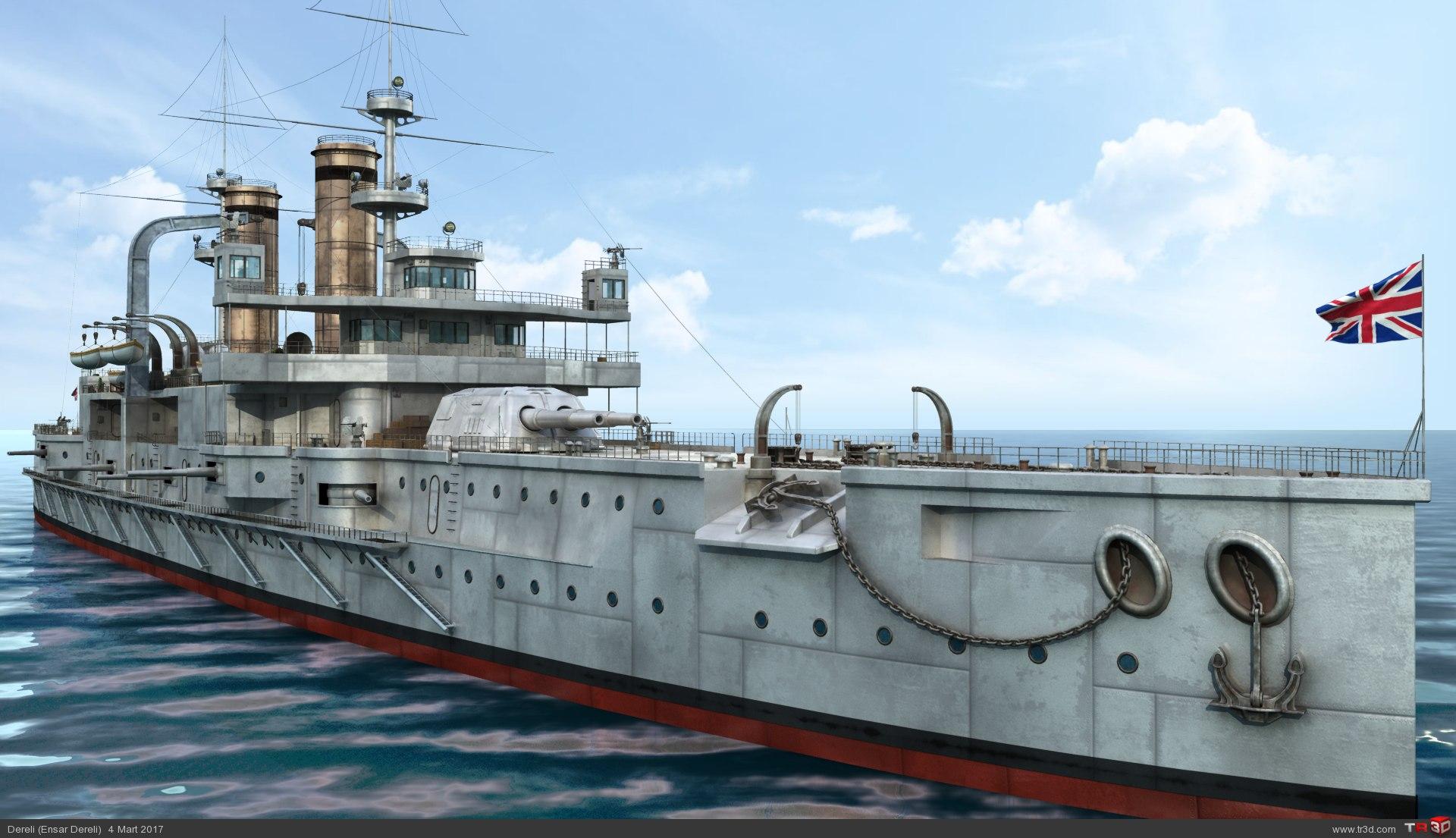 HMS Triumph 1
