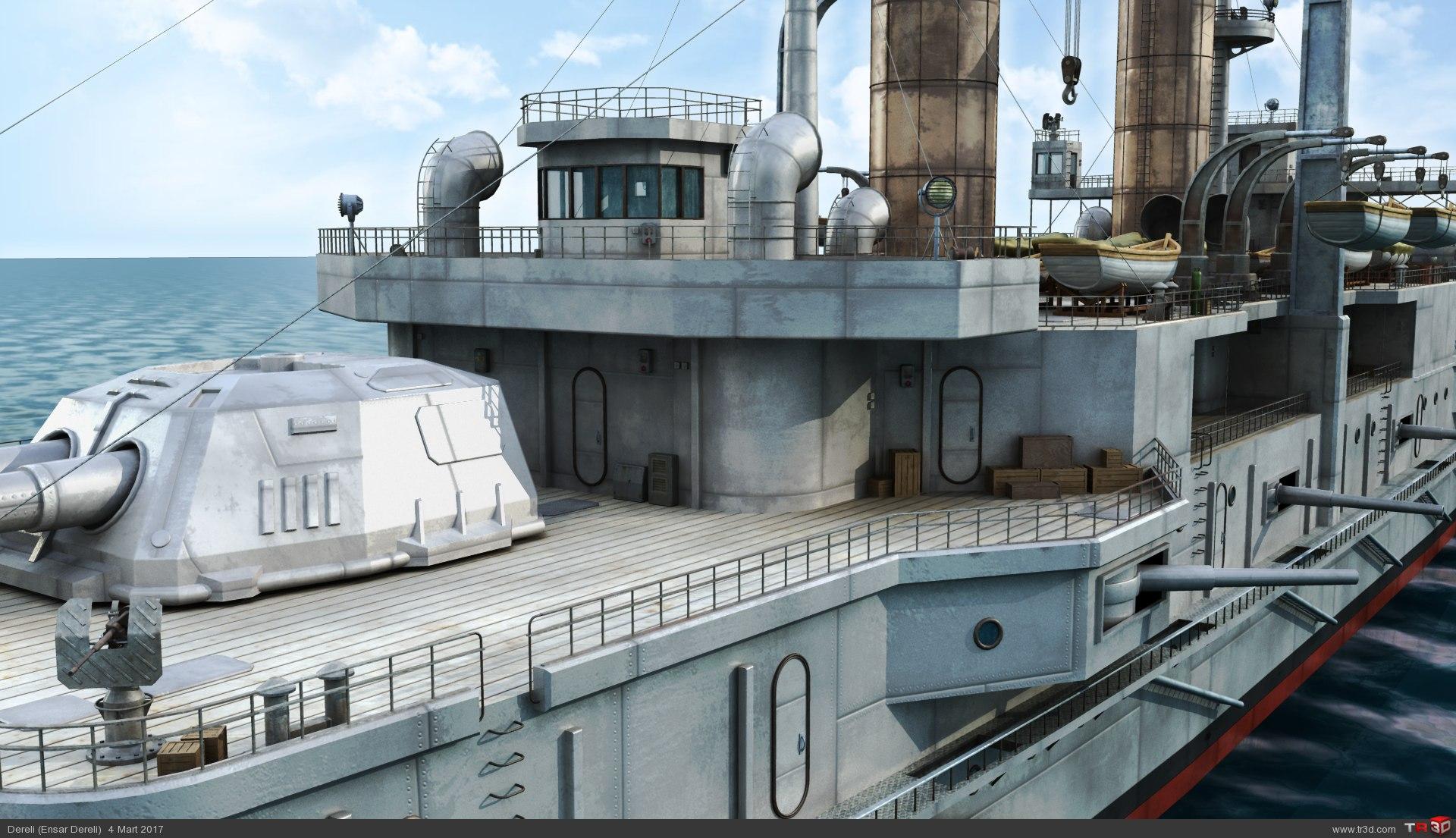 HMS Triumph 3