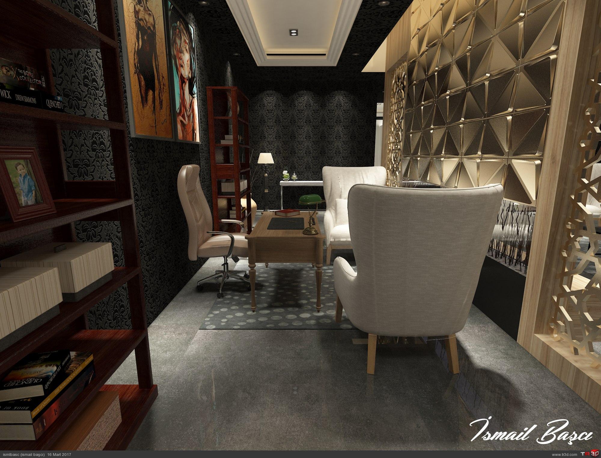 modern salon çalışması  1