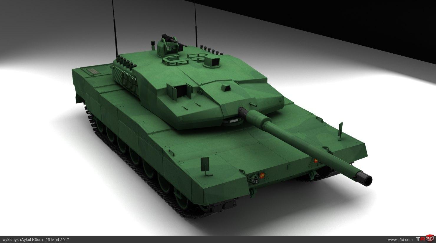 Altay Tank 2