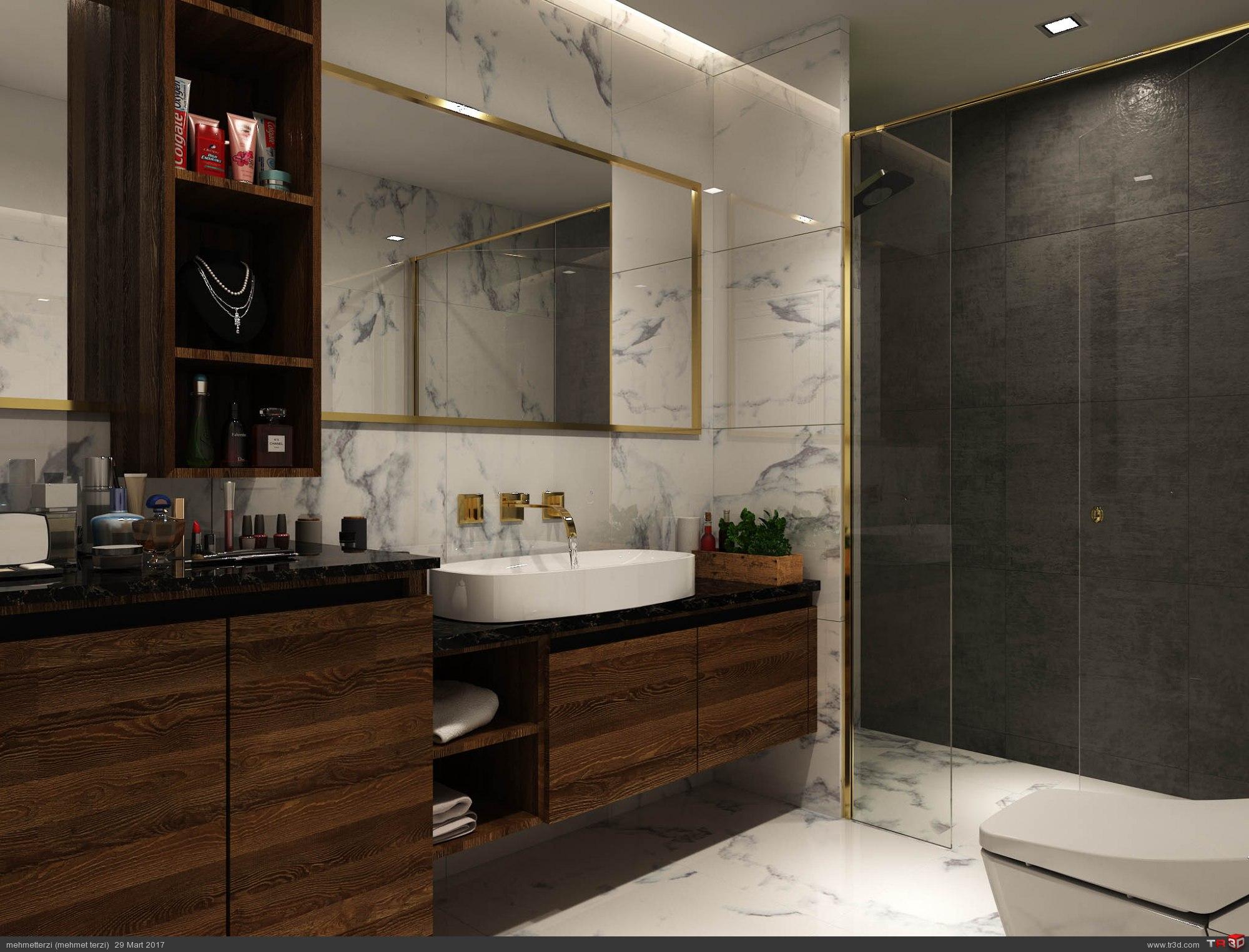 R.K. örnek daire tasarım