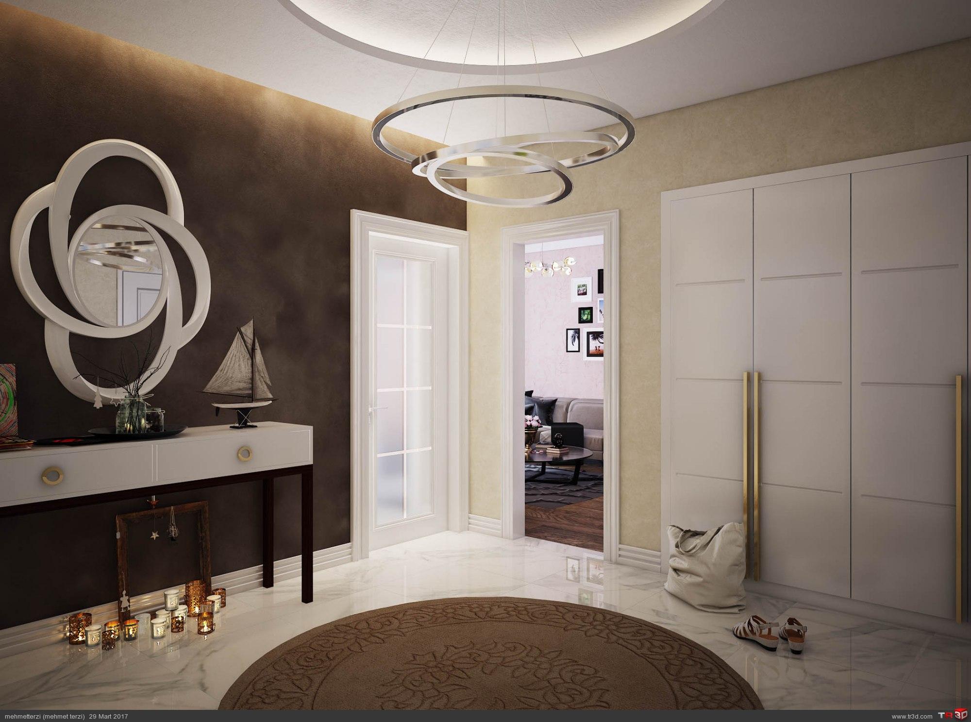R.K. örnek daire tasarım 1