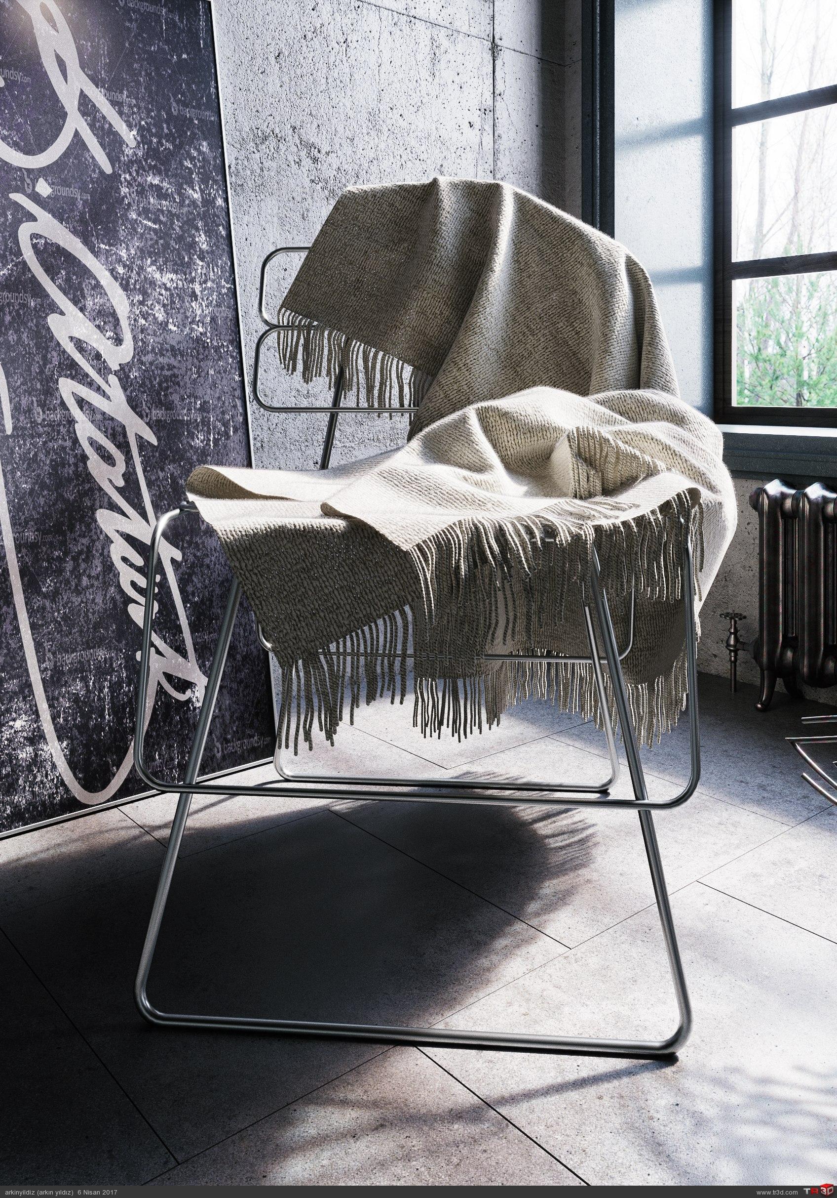 İnterior Design - Concrete & Metal 2