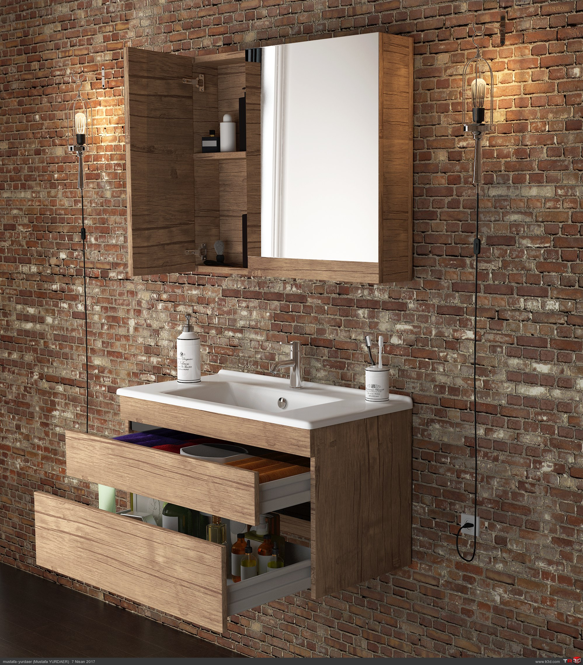 ANTIK LİGHT BATHROOM