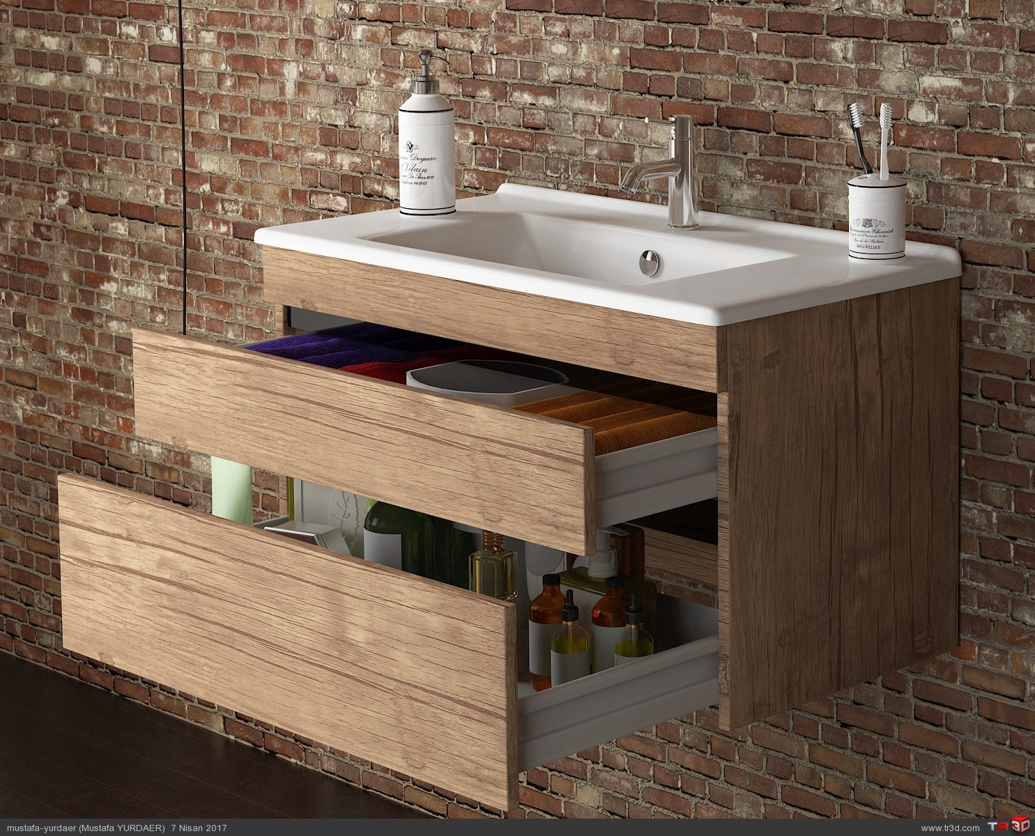 ANTIK LİGHT BATHROOM 1