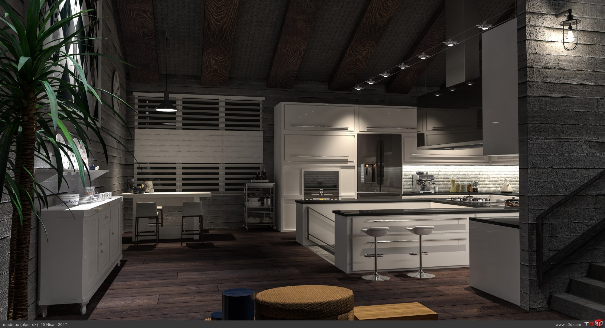Loft Kitchen