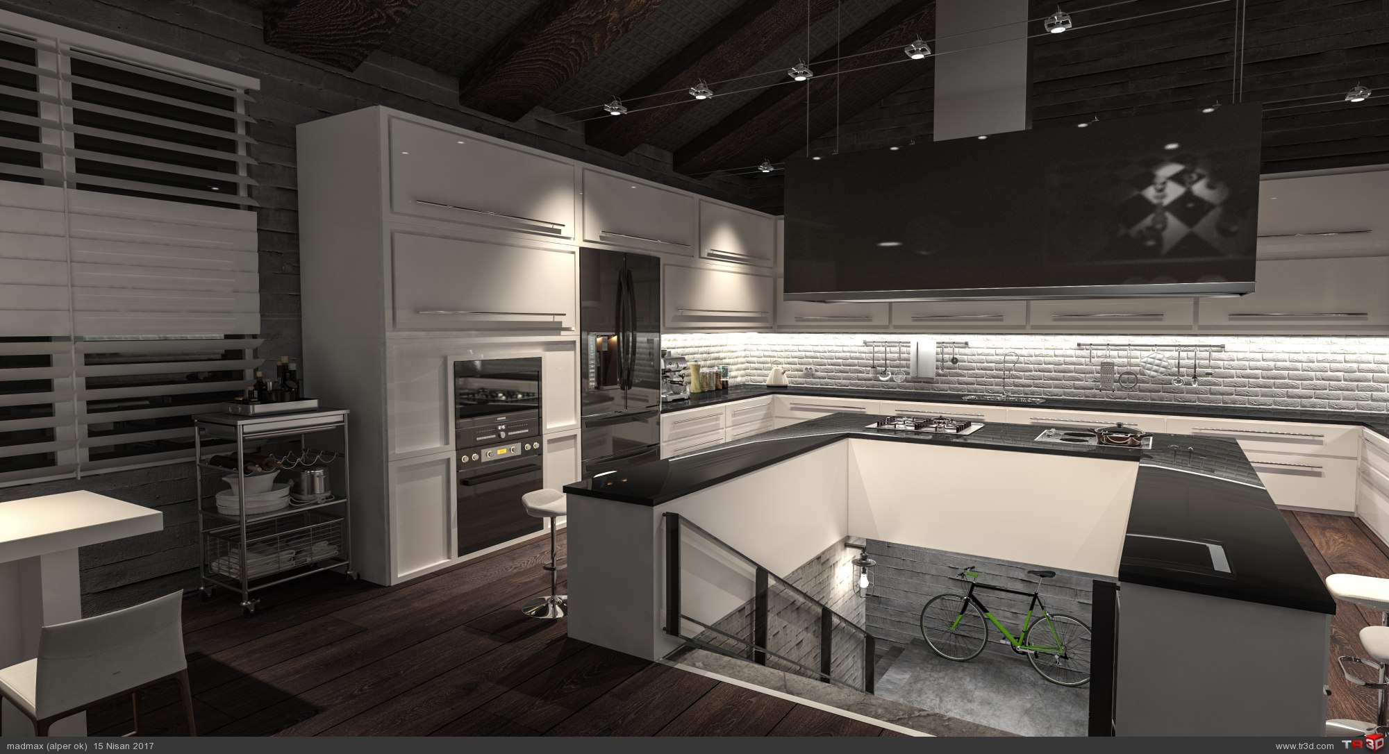 Loft Kitchen 1