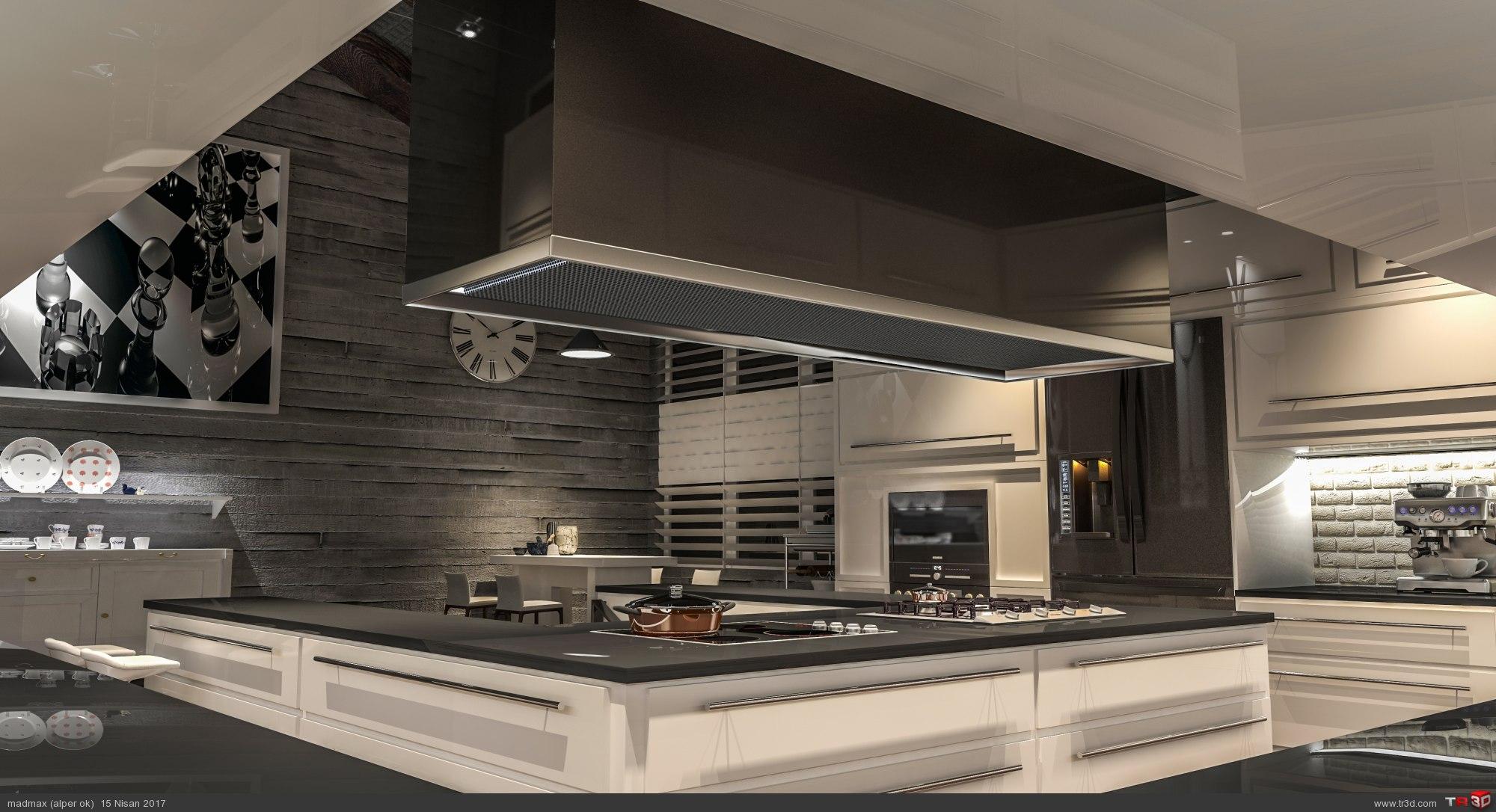 Loft Kitchen 2