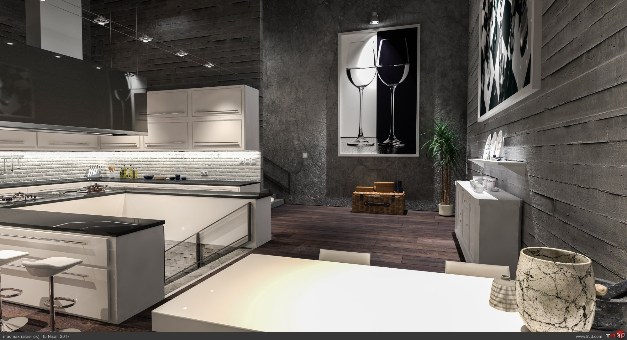 Loft Kitchen 3