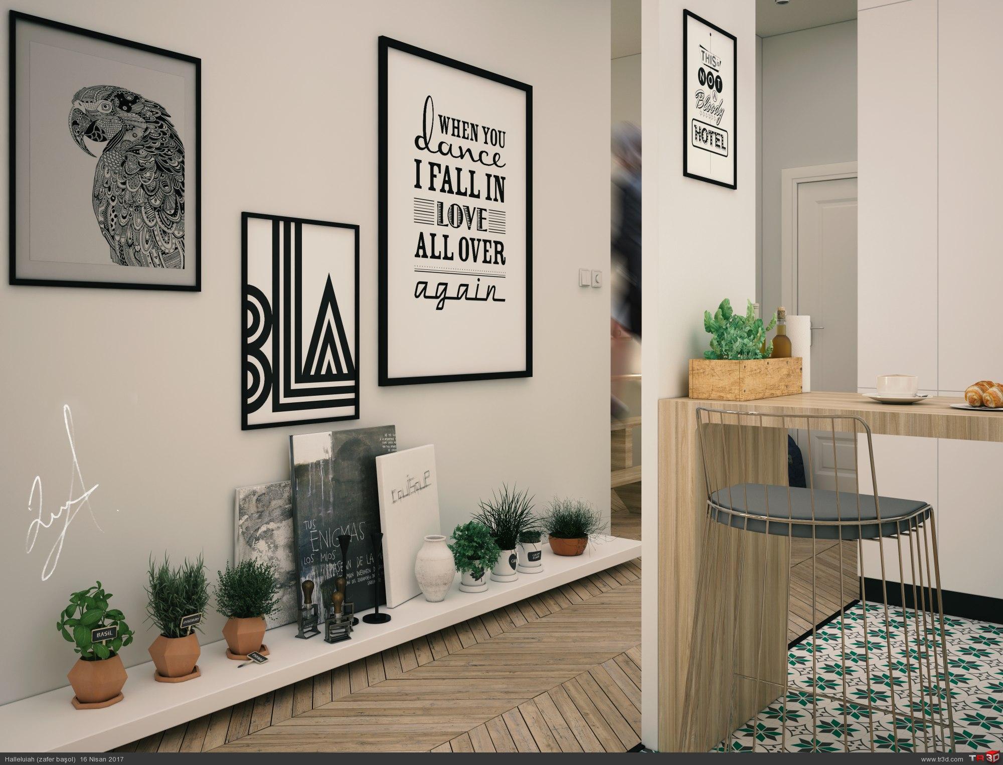 Kitchen & Livingroom 1