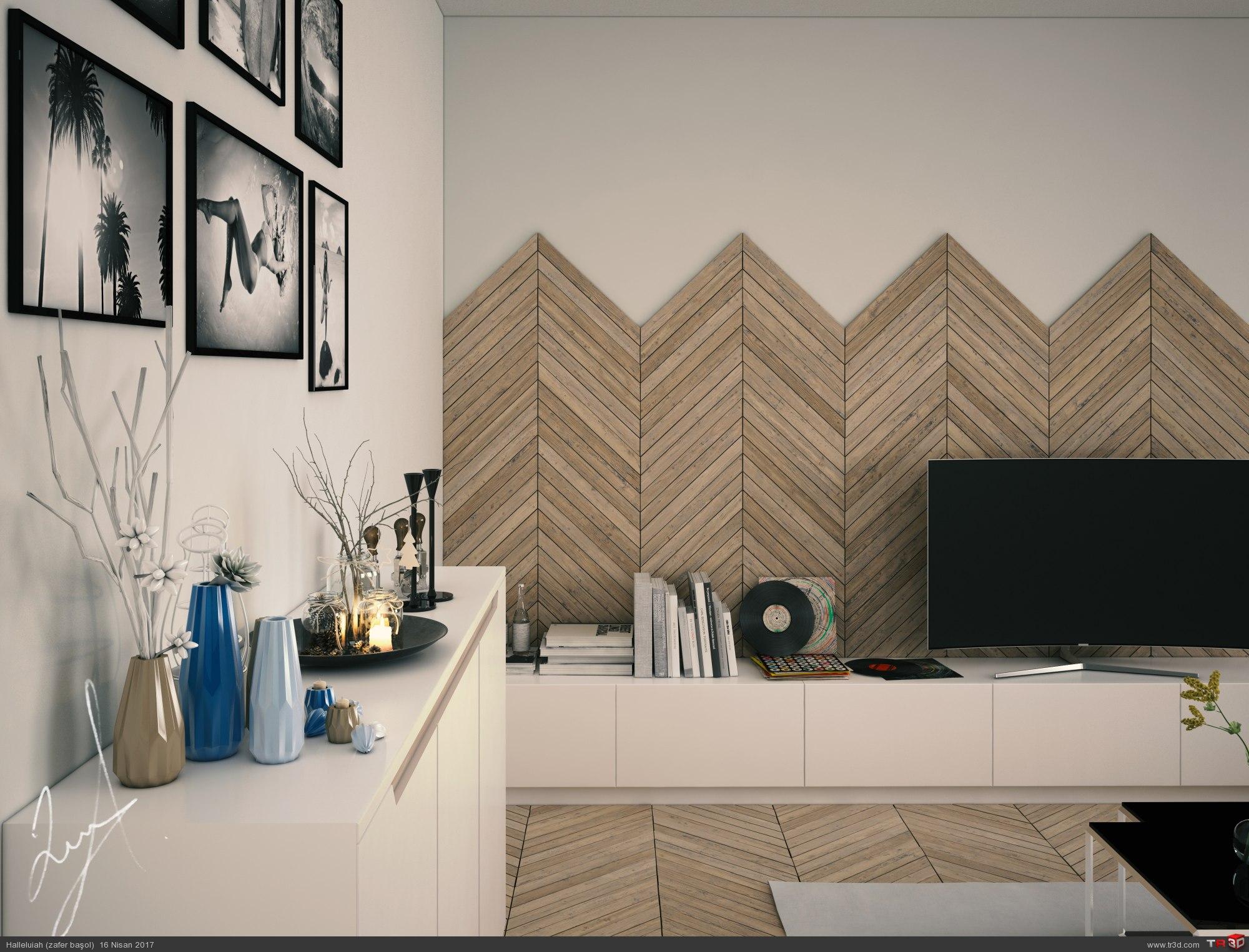 Kitchen & Livingroom 2