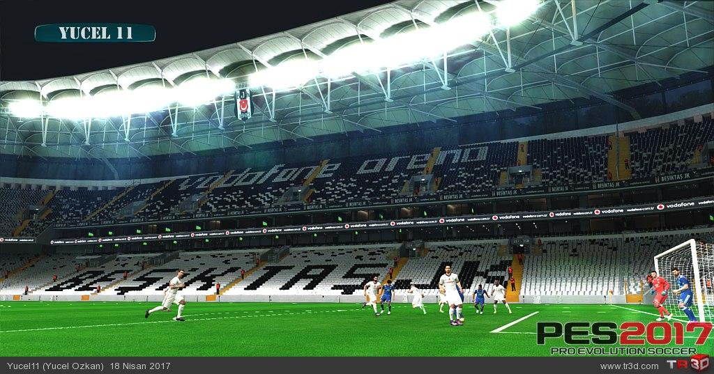 Beşiktaş Vodafone Arena Pes 2017