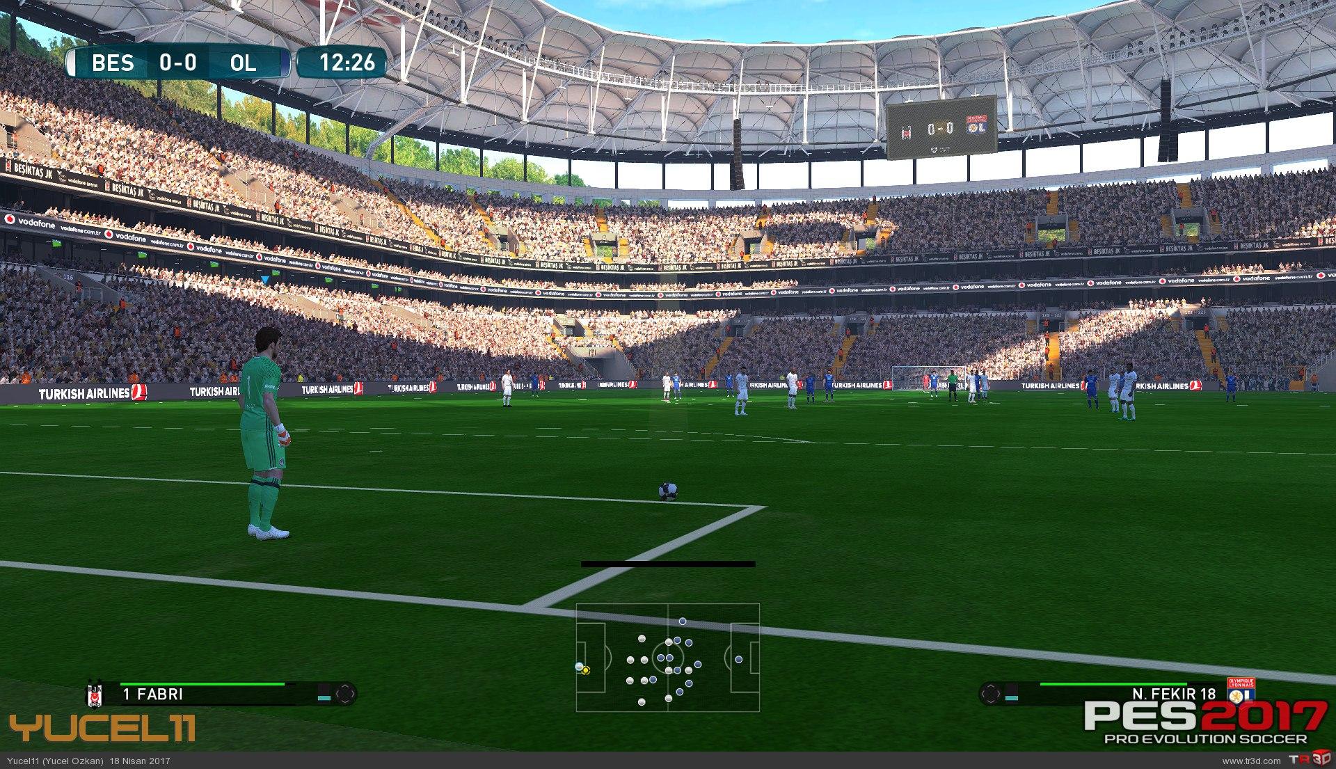 Beşiktaş Vodafone Arena Pes 2017 1