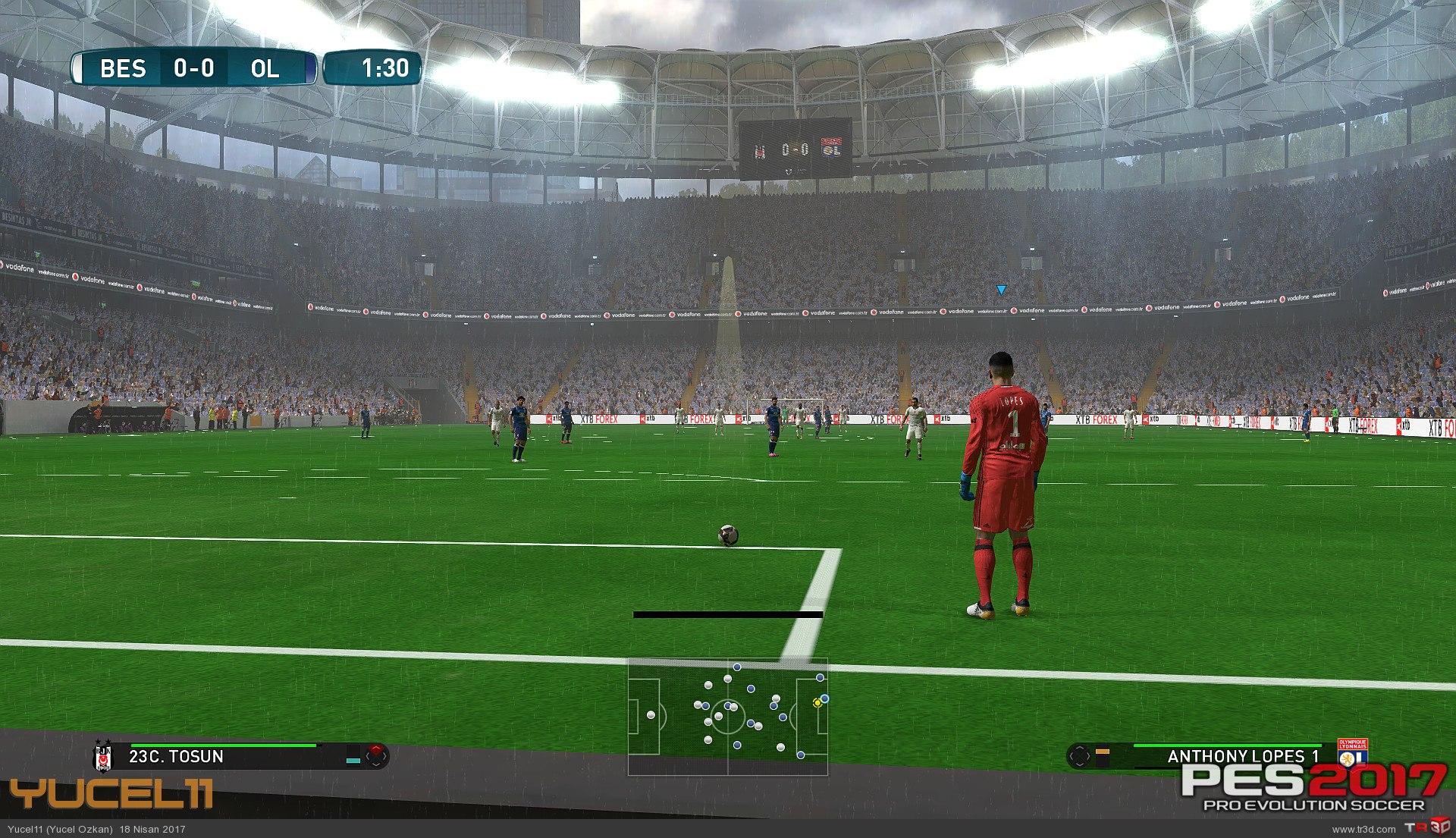 Beşiktaş Vodafone Arena Pes 2017 2