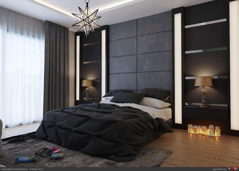 S.H yatak odası tasarımı