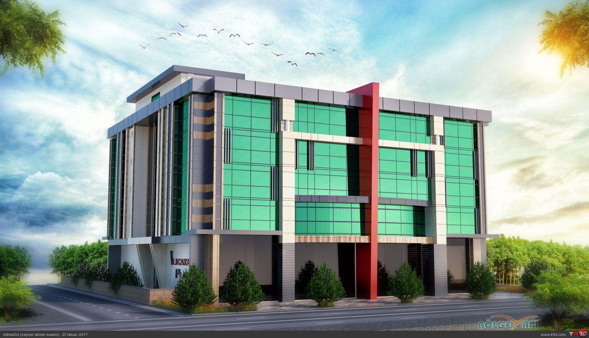 İş Merkezi Tasarımı