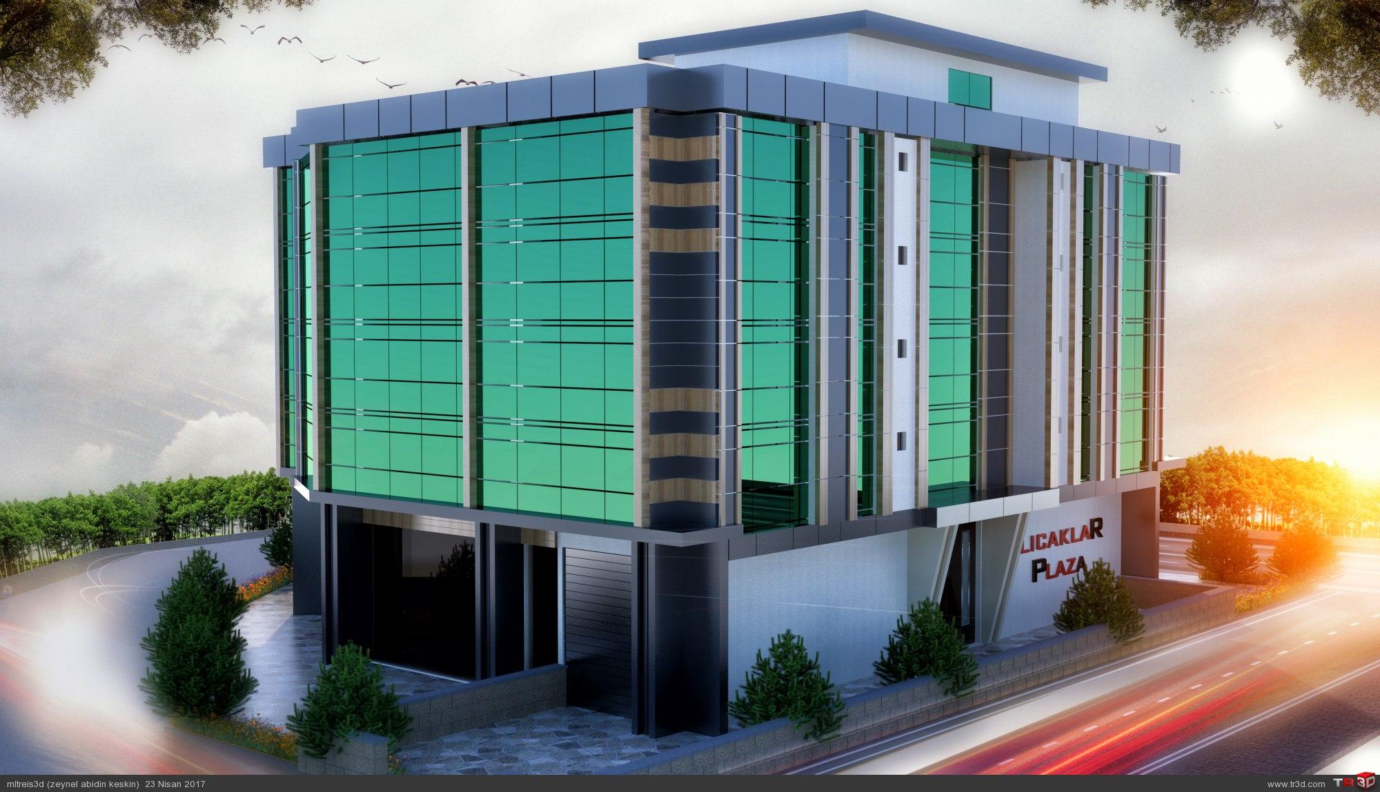 İş Merkezi Tasarımı 3