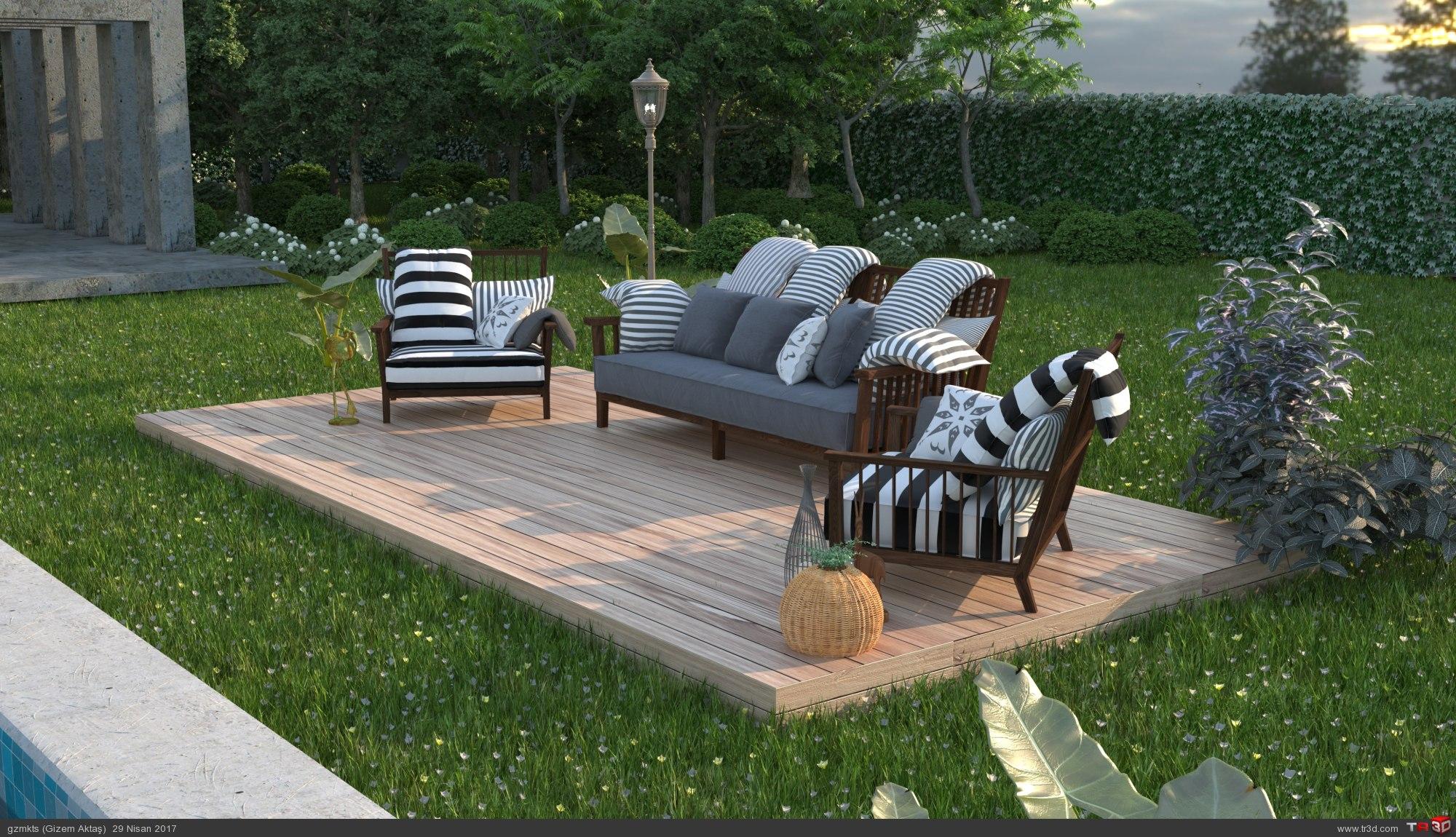 Villa Bahçesi