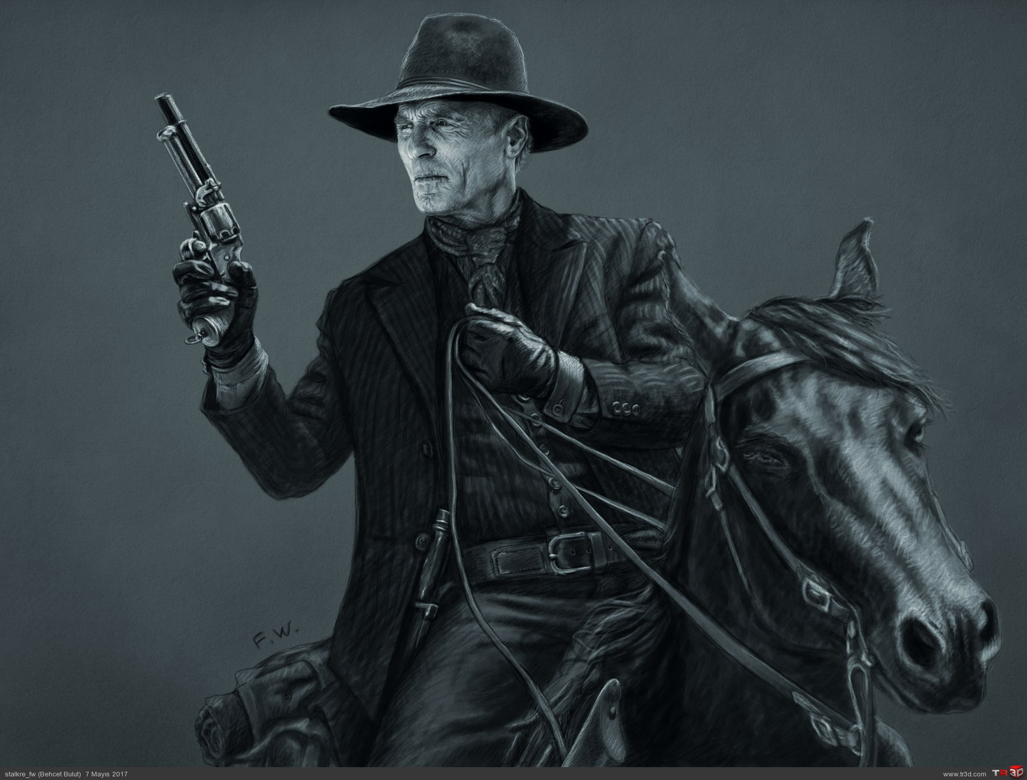 Ed Harris - Westworld