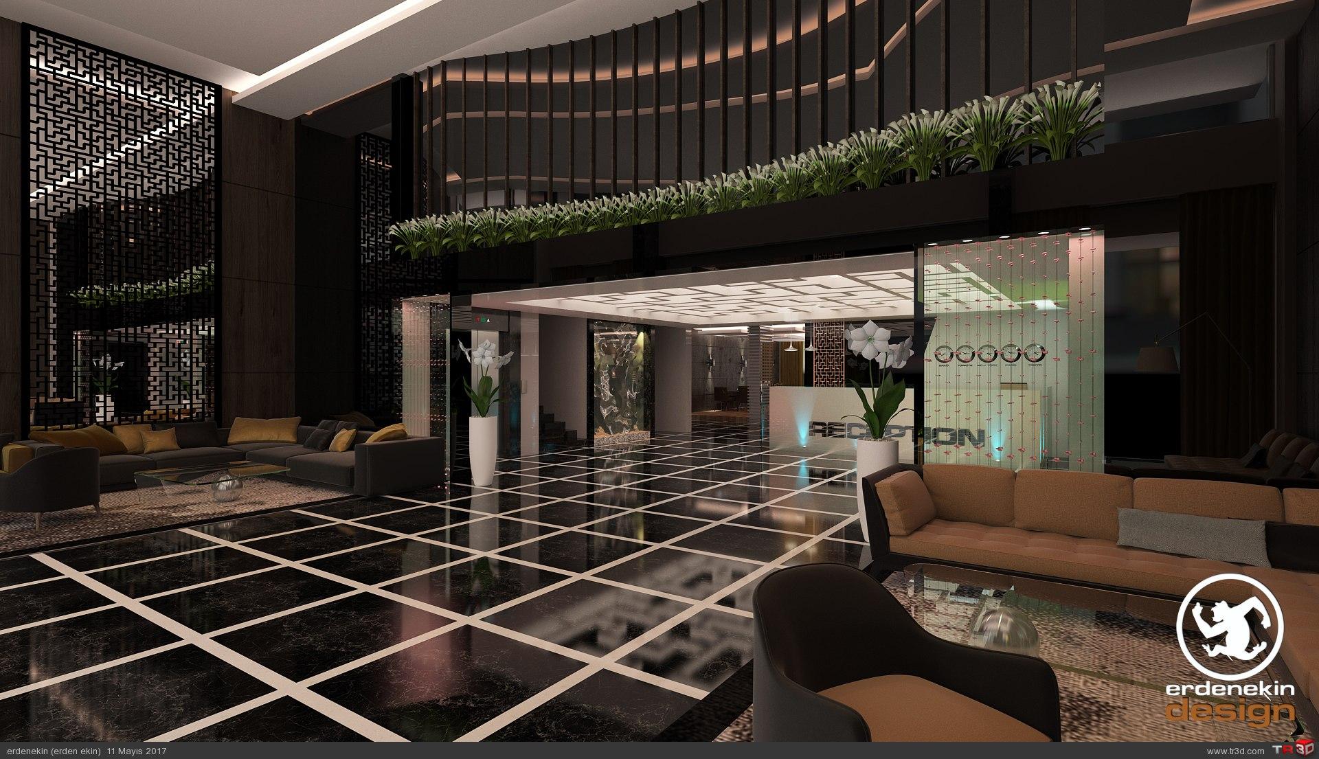 New Gate Otel Lobi 4