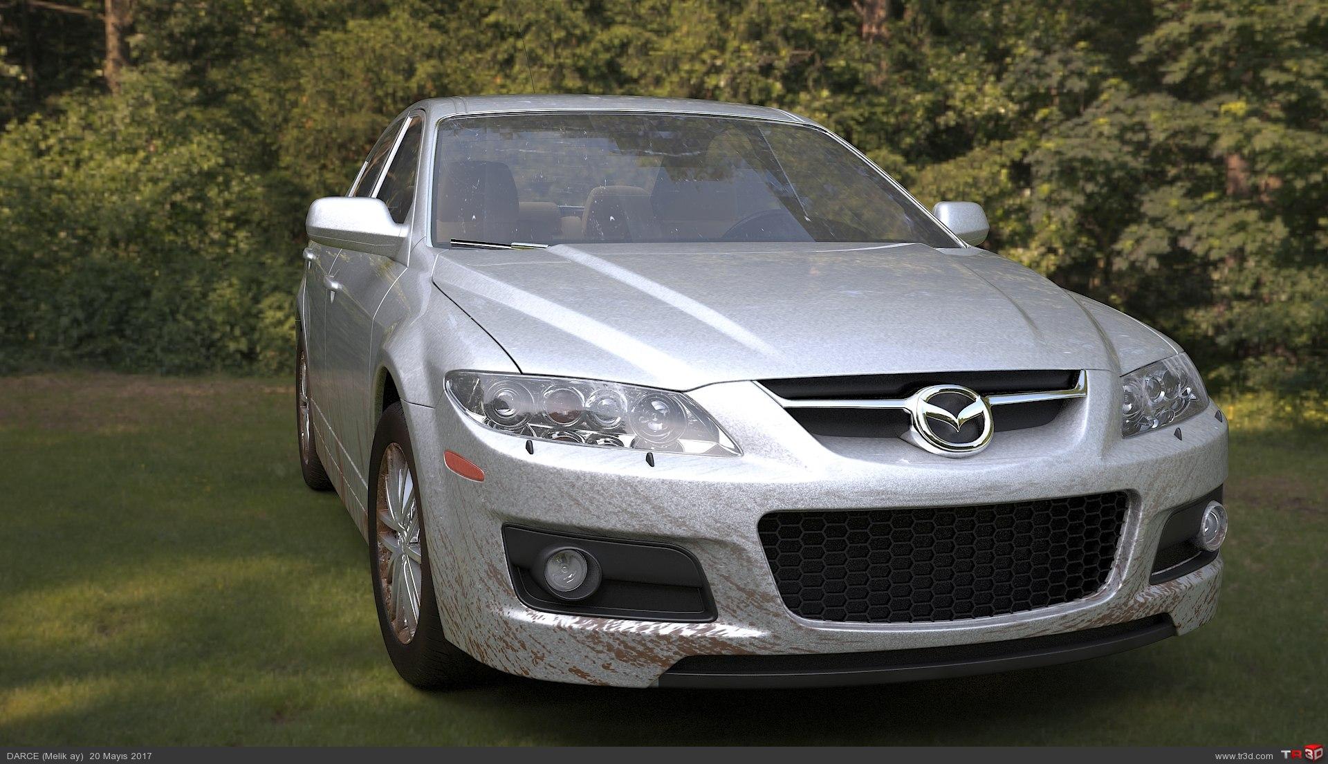 Mazda 6 Mps Render