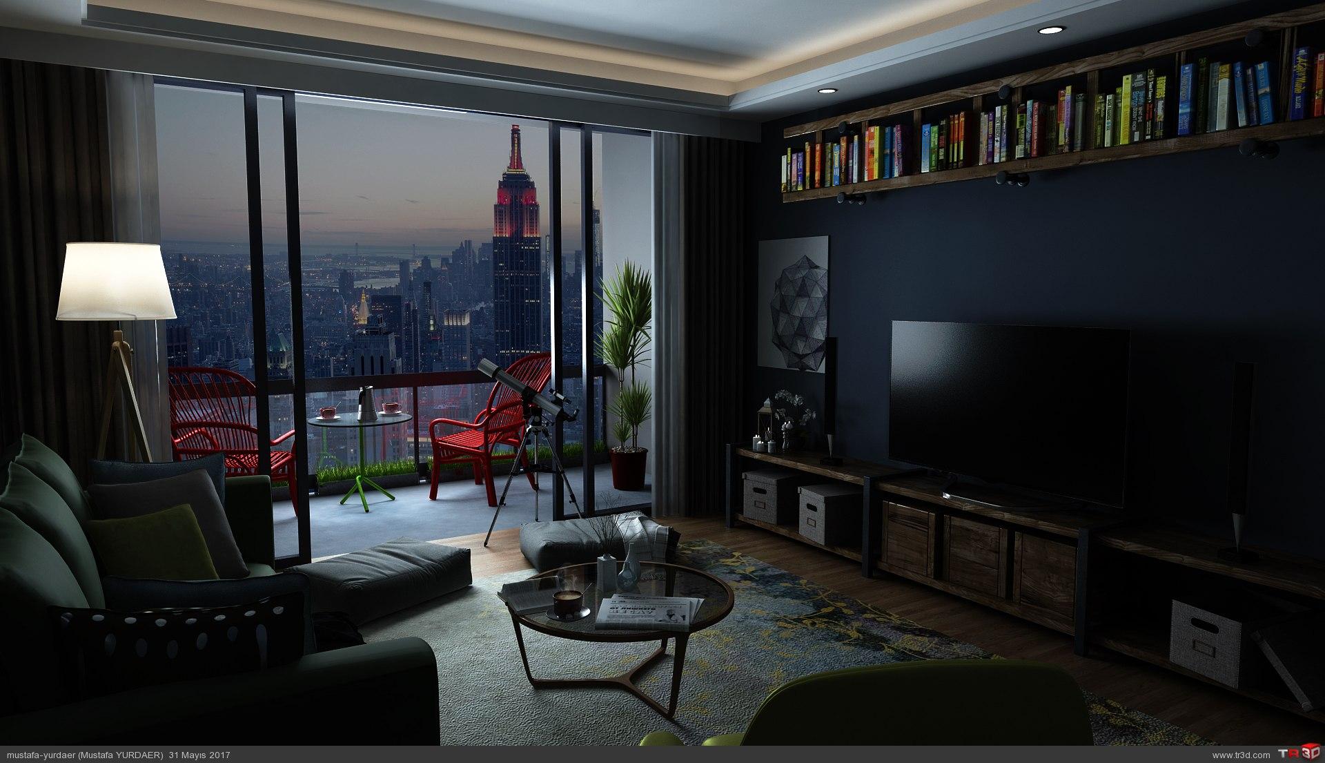 LIVING ROOM-2 3