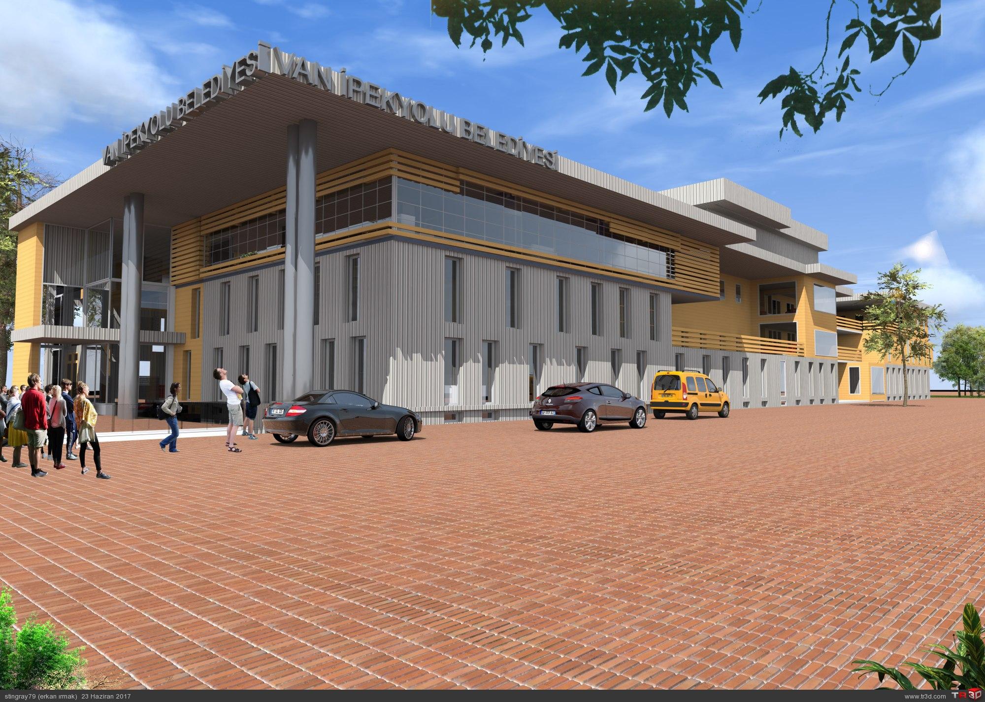 van ipekyolu belediye proje yarışması
