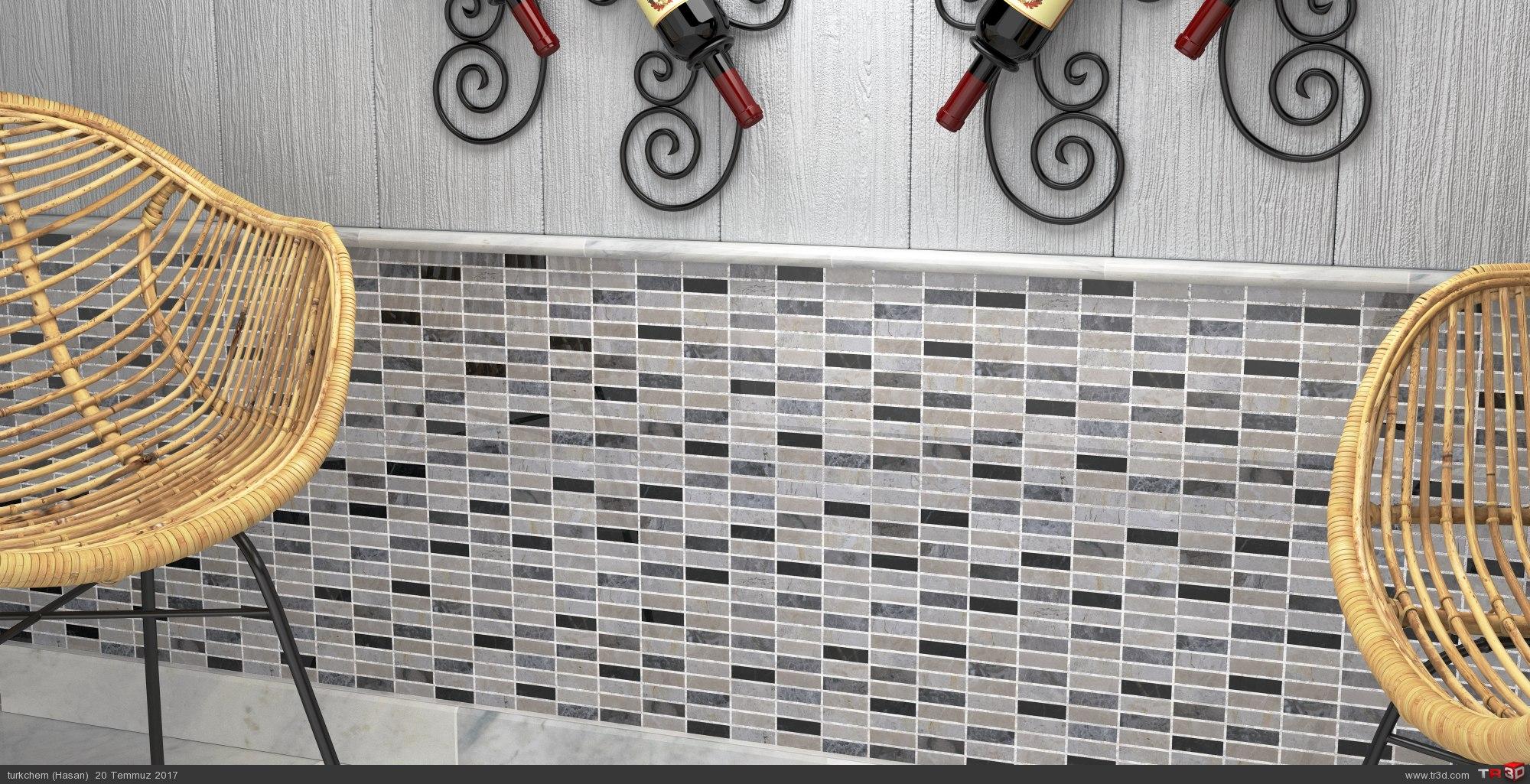 Mix Marble Mosaics 4