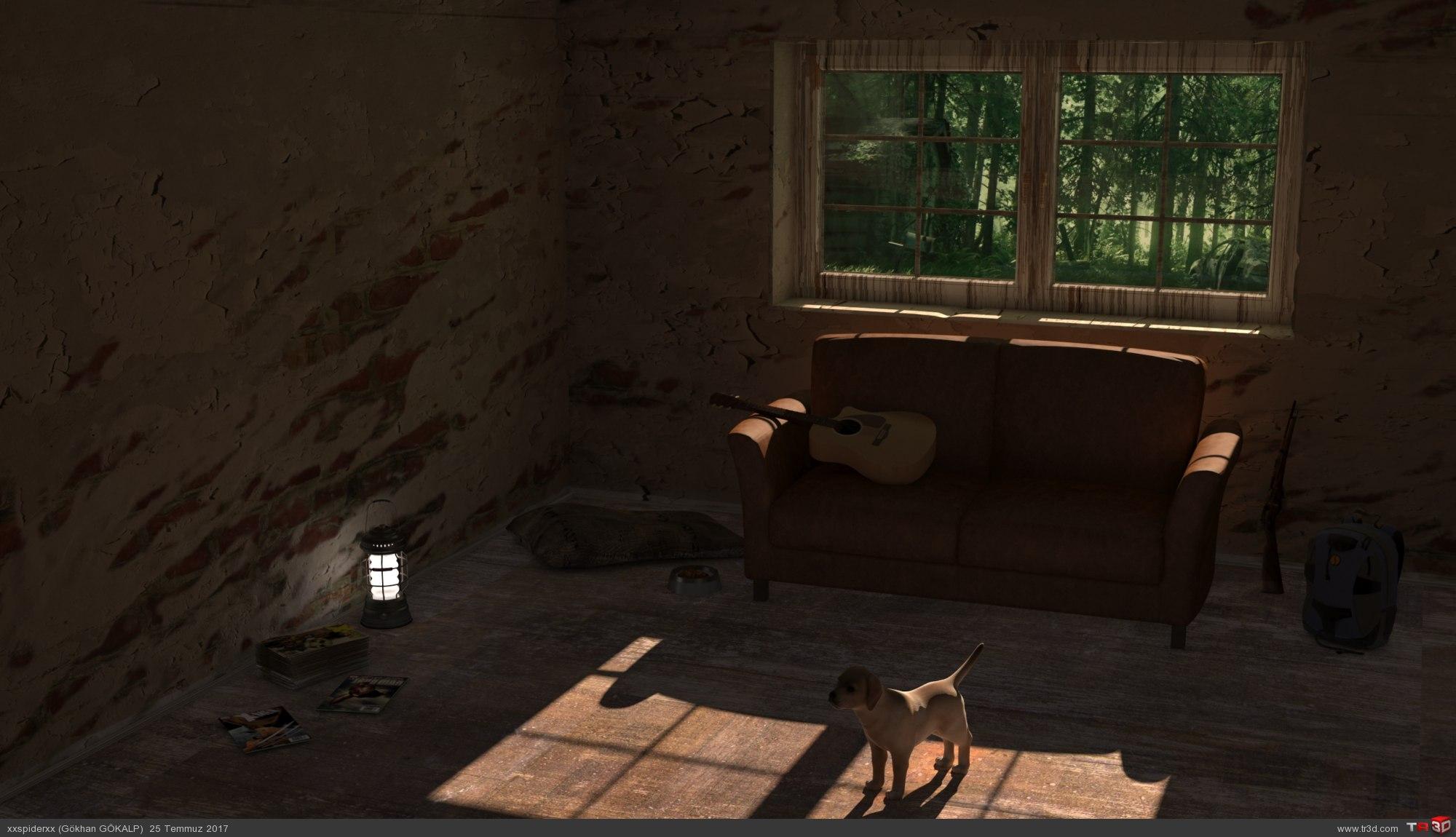 Oturma Odası ve Apokaliptik Çalışma 1