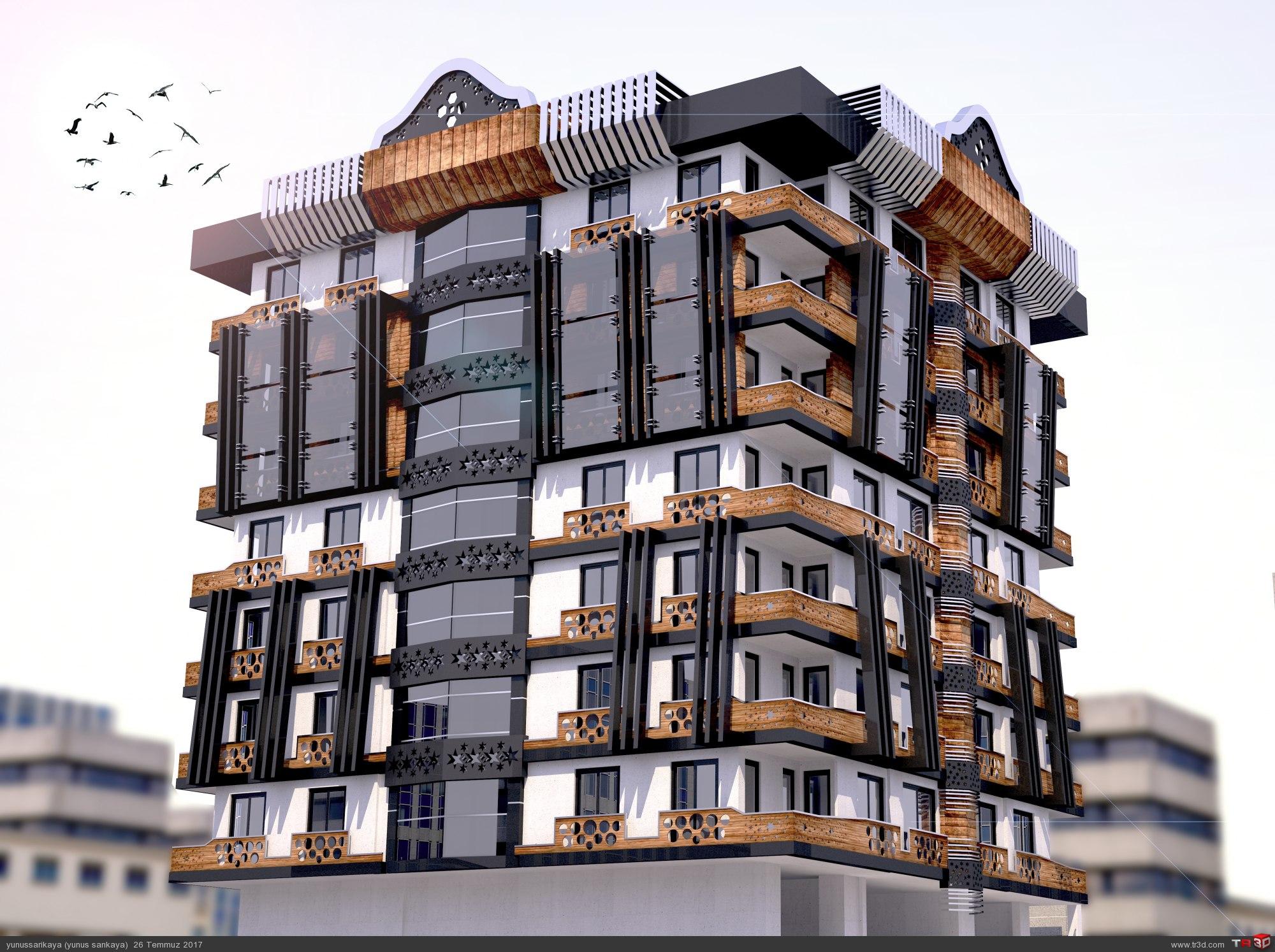 DG Yapı Antalya Projesi