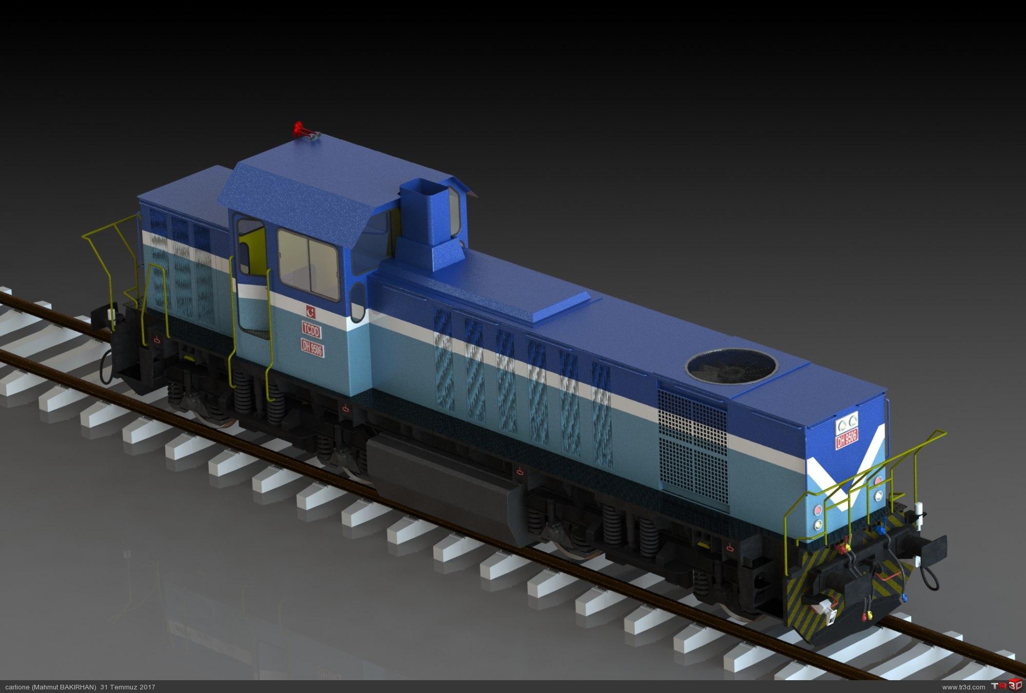 DH 9500 Manevra lokomotifi 2