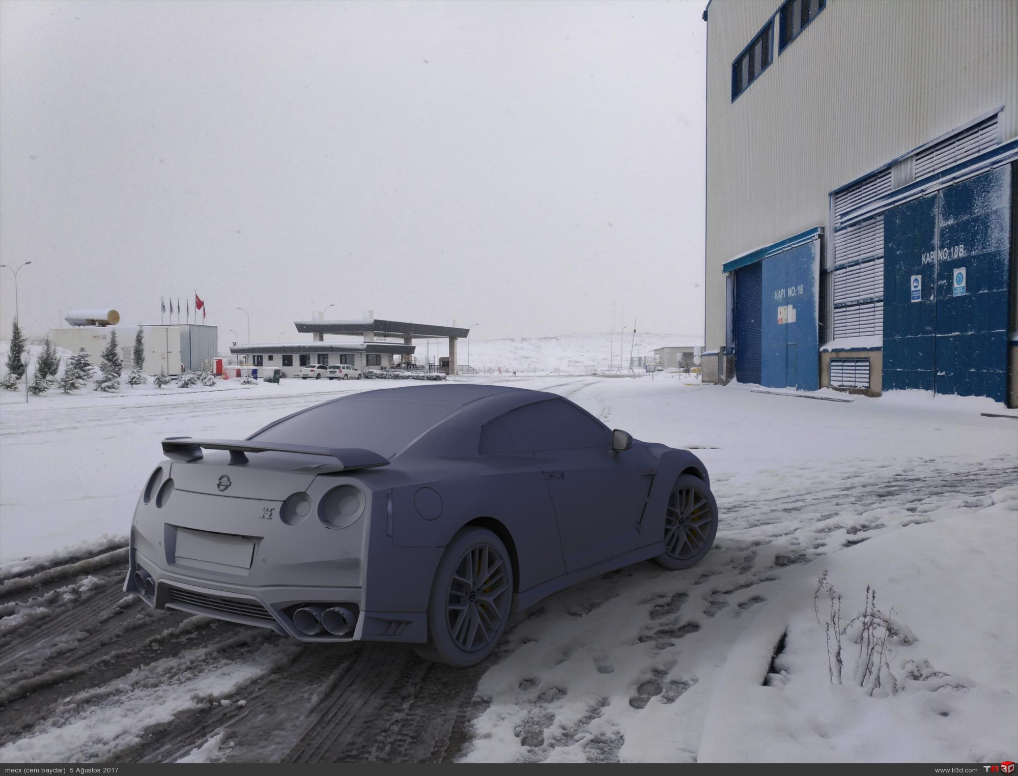 Nisssan GTR 1