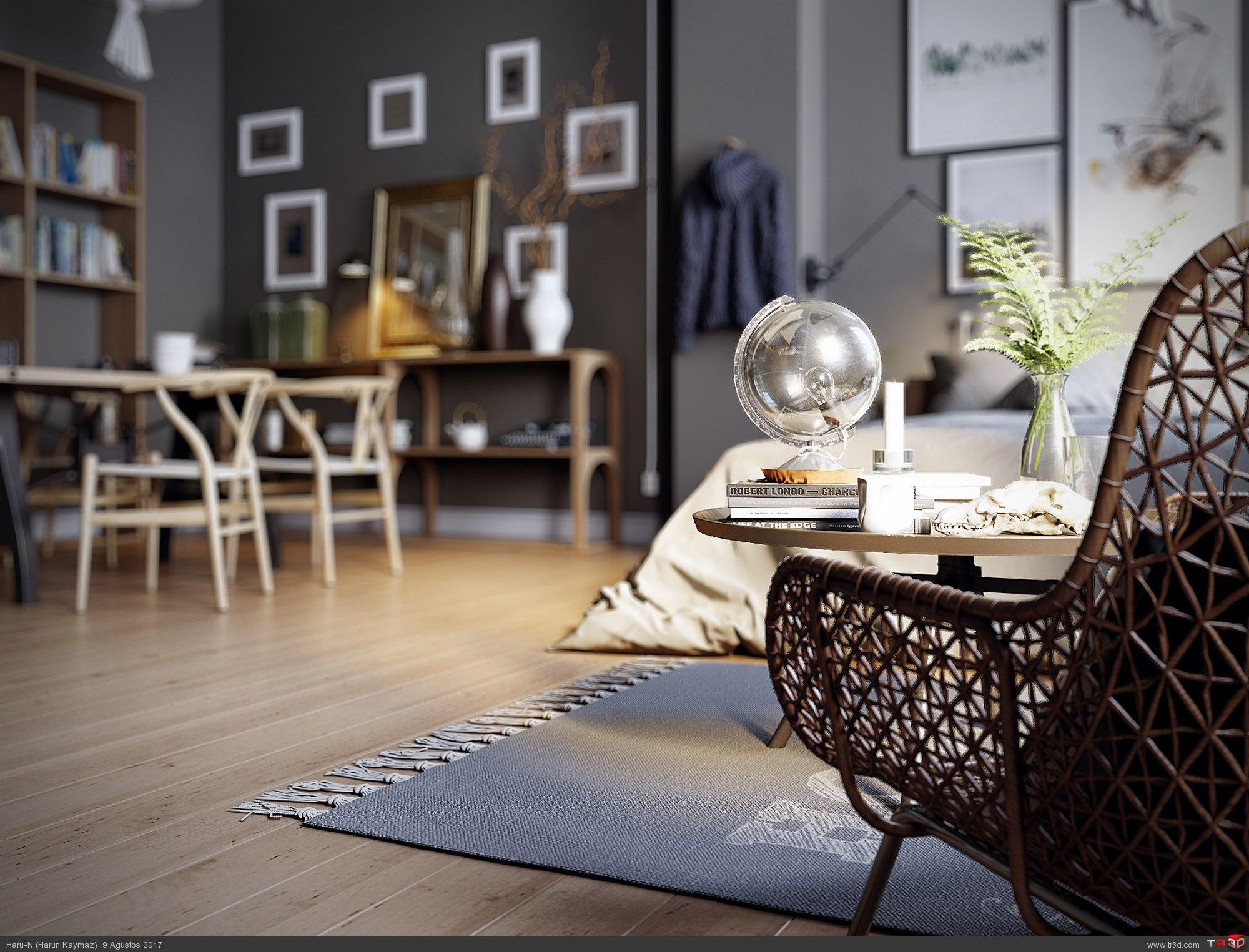 Brown Bedroom 4