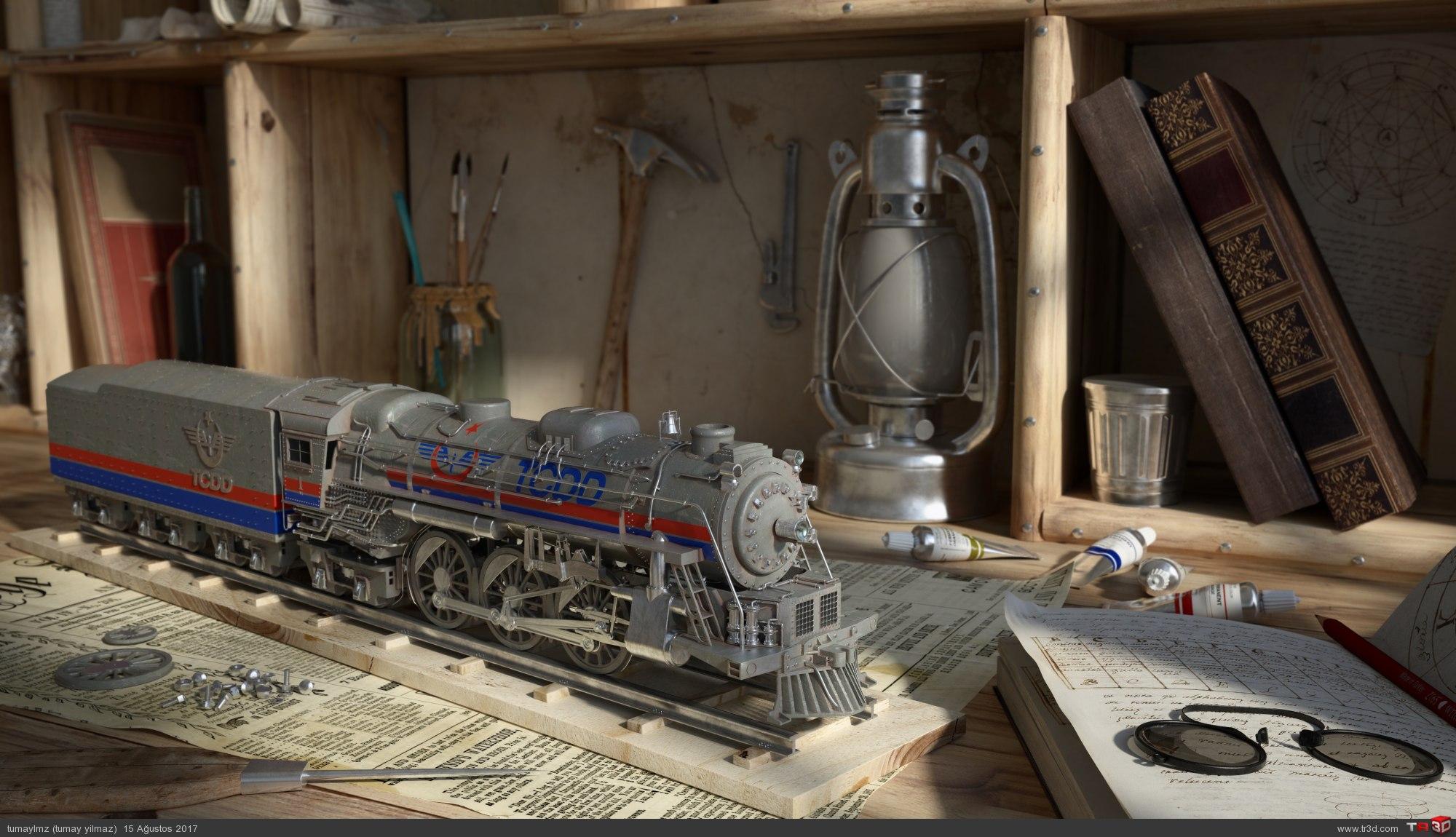 Tren Çalışması