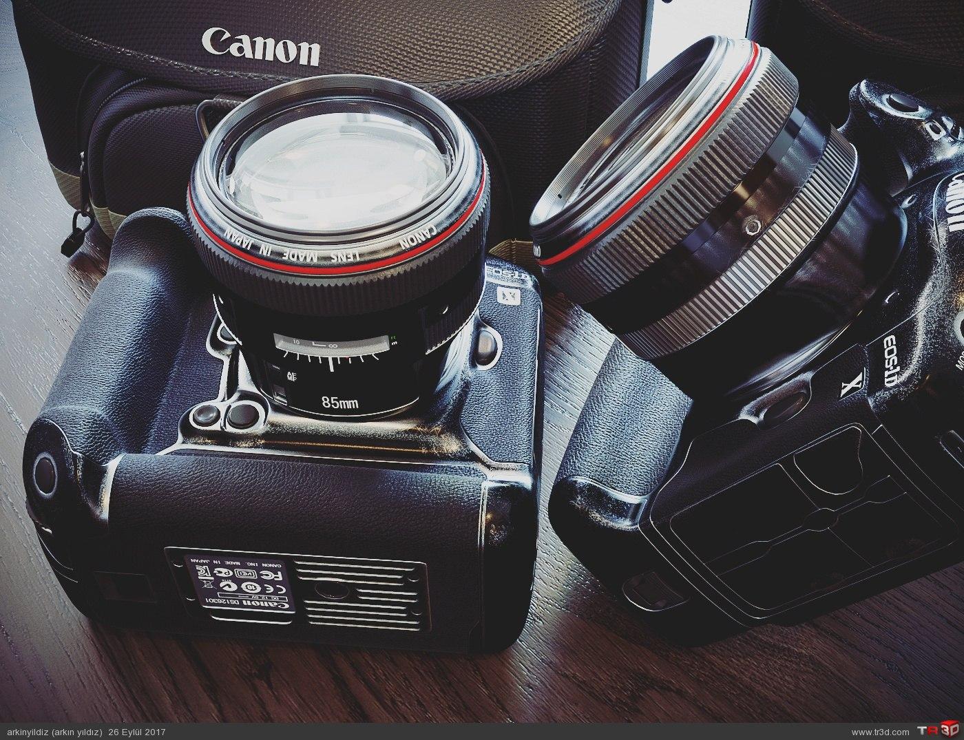 Canon Fotoğraf Makinesi 3D