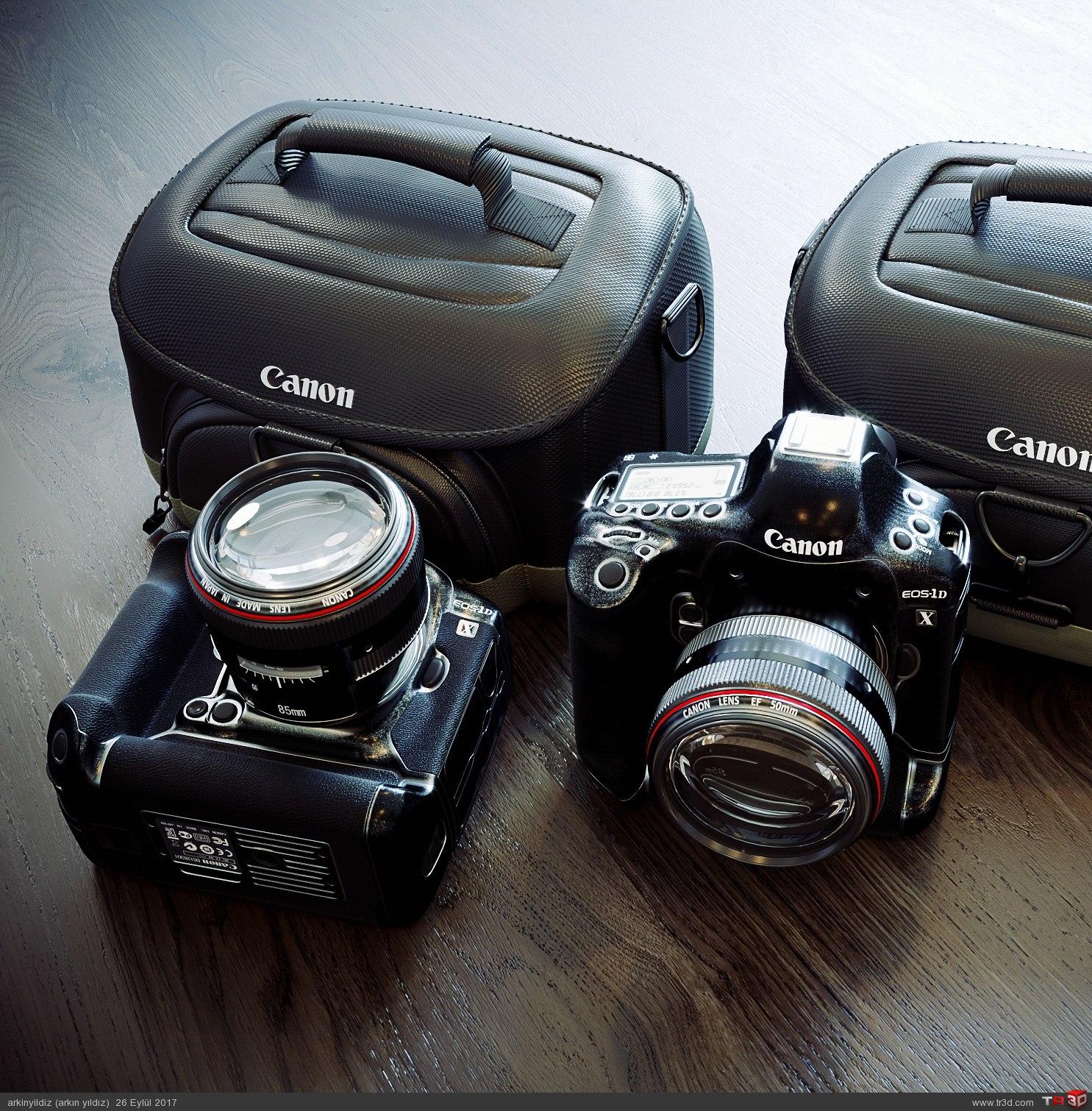 Canon Fotoğraf Makinesi 3D 1