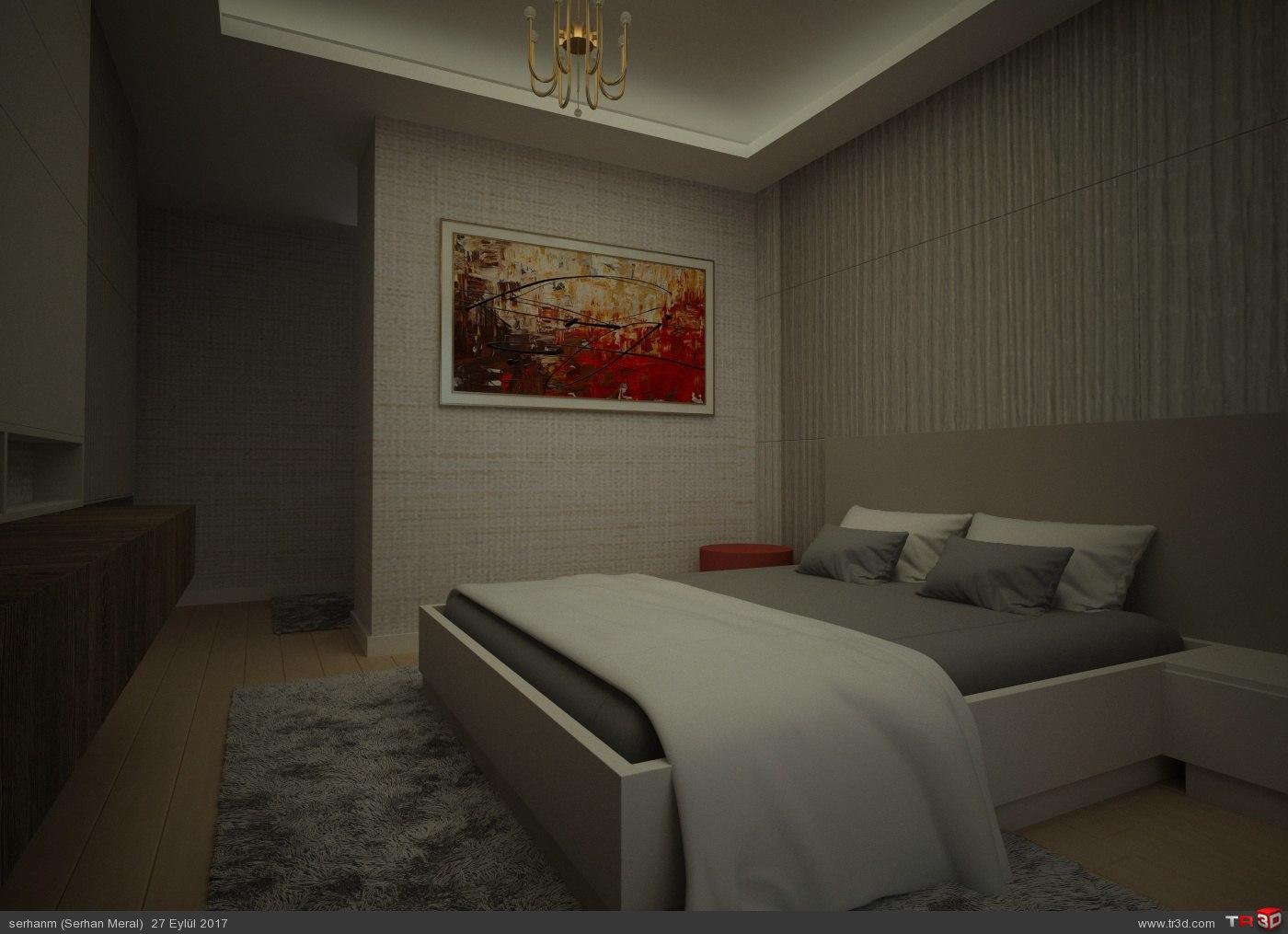 Örnek Daire Yatak Odası