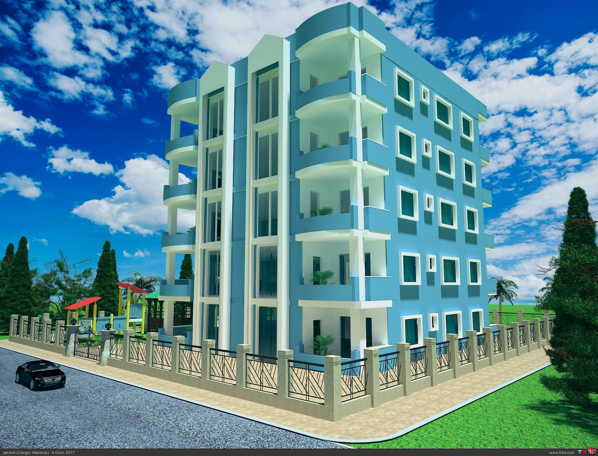 Apartman Render 1