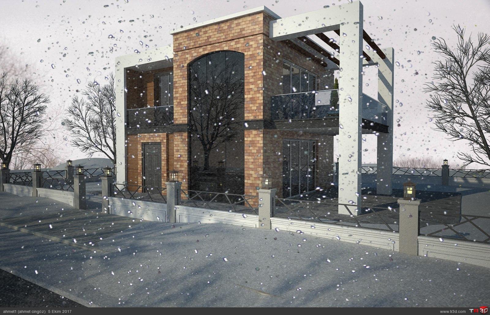 villa kış