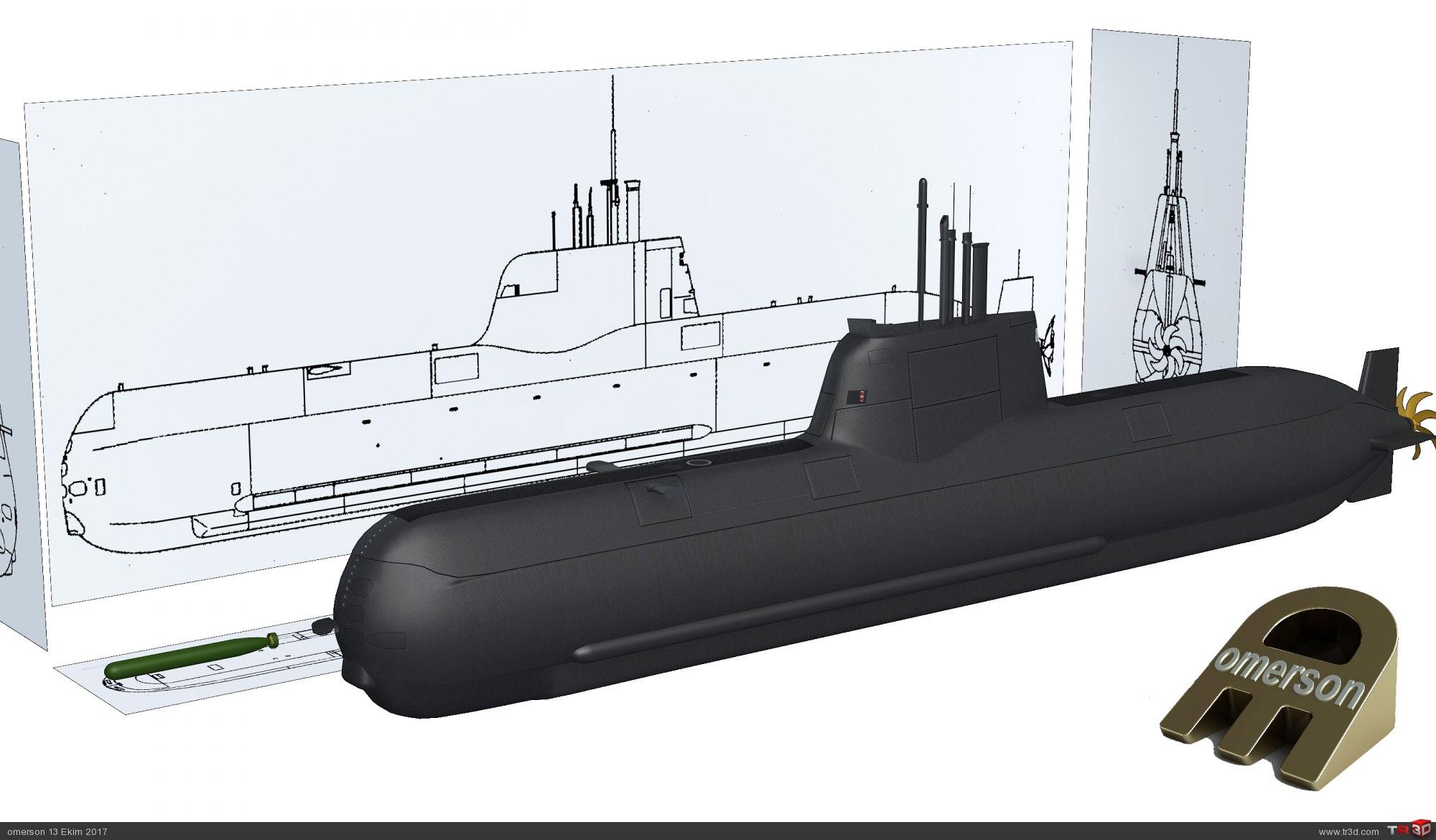 Type 214 Denizaltı. 2