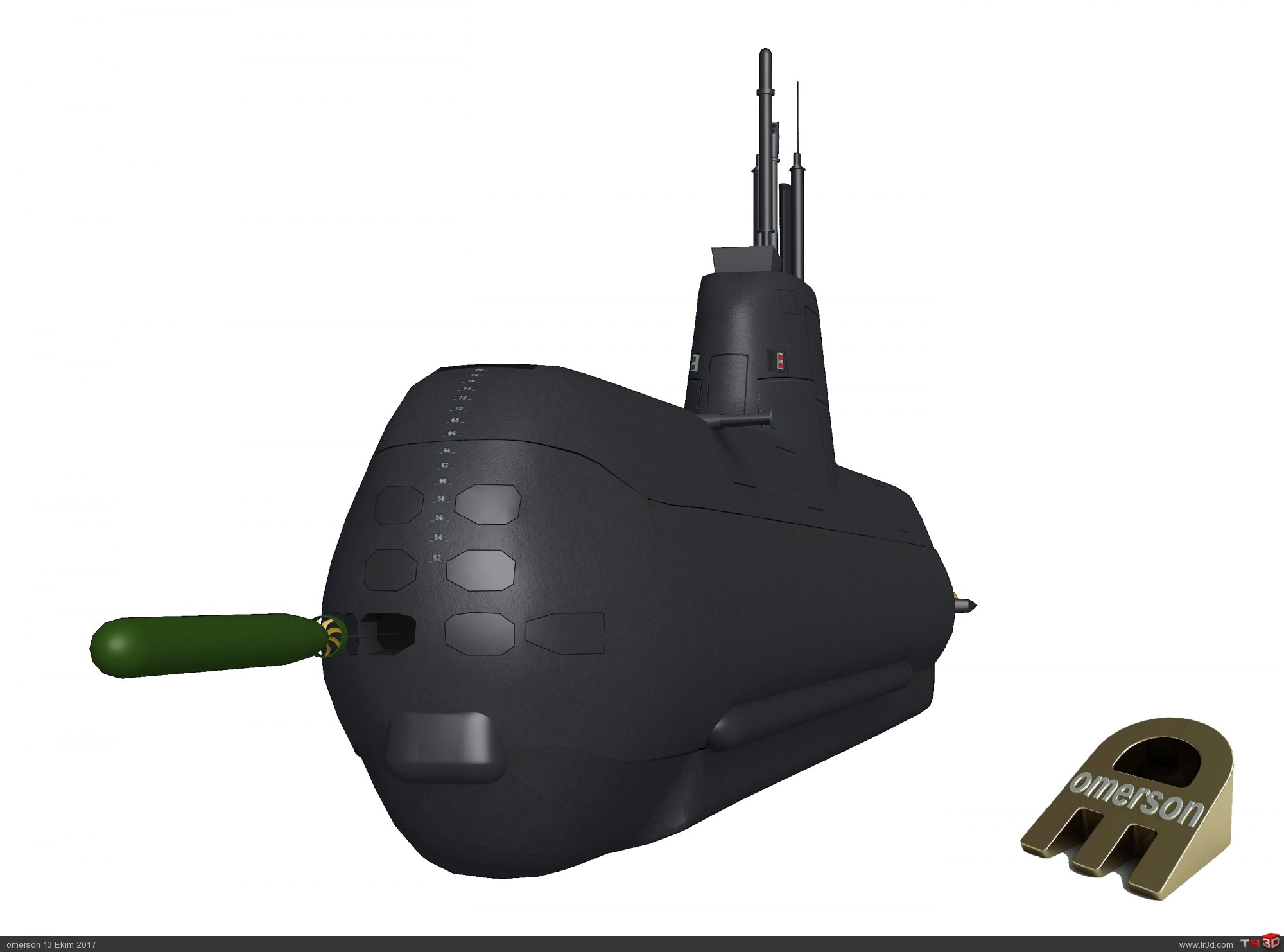 Type 214 Denizaltı. 3