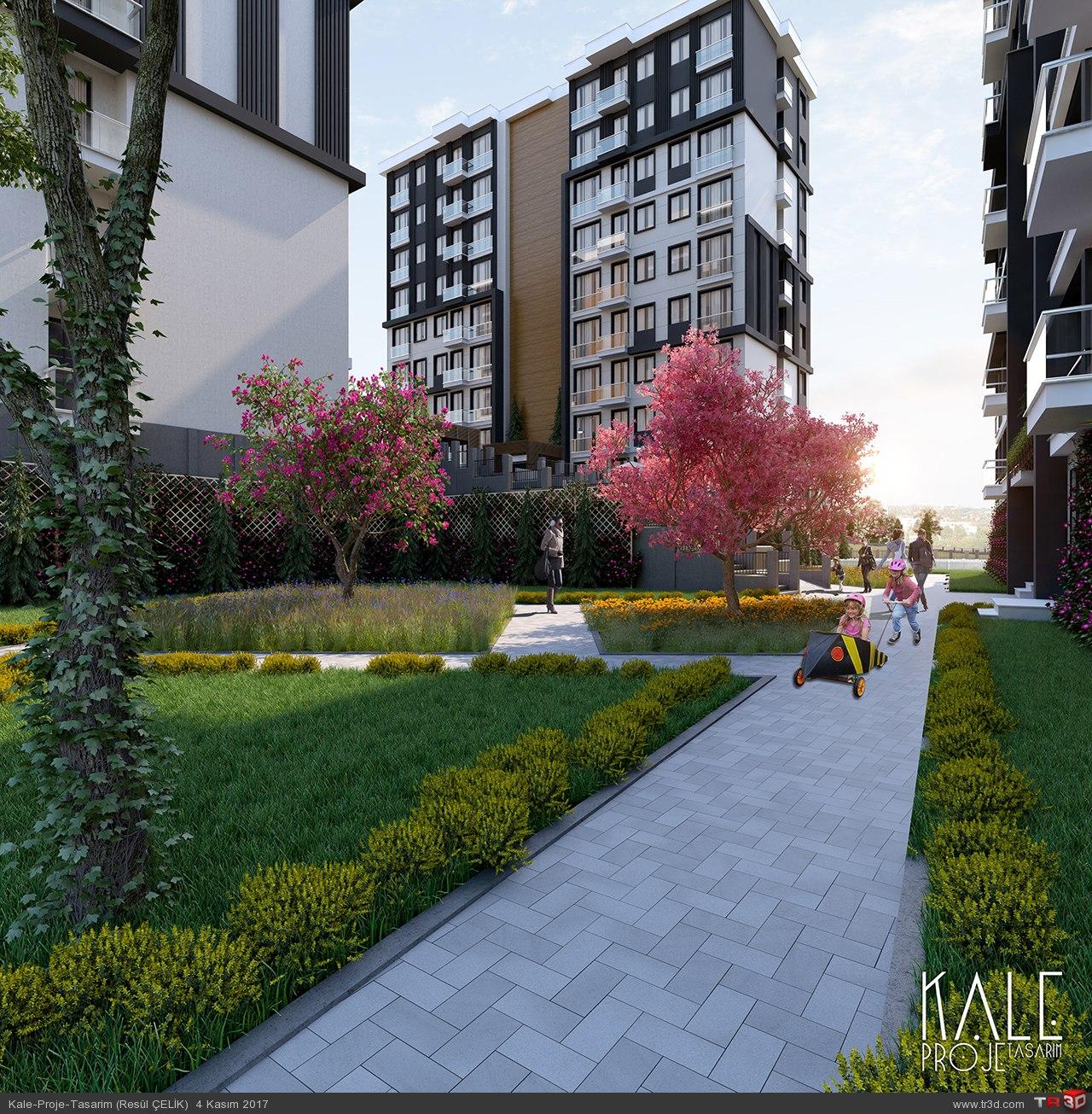 Kale 3d (Demir House)