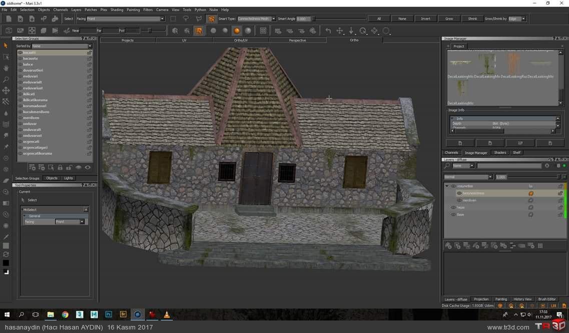 Fantastik taş ev yaptım 2